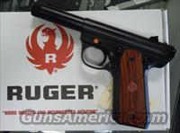 RUGER 22/45 MKIII 22LR PISTOL W/ THREADED BARREL (P45GMK3RP) (10150)  Guns > Pistols > Ruger Semi-Auto Pistols > Mark I & II Family