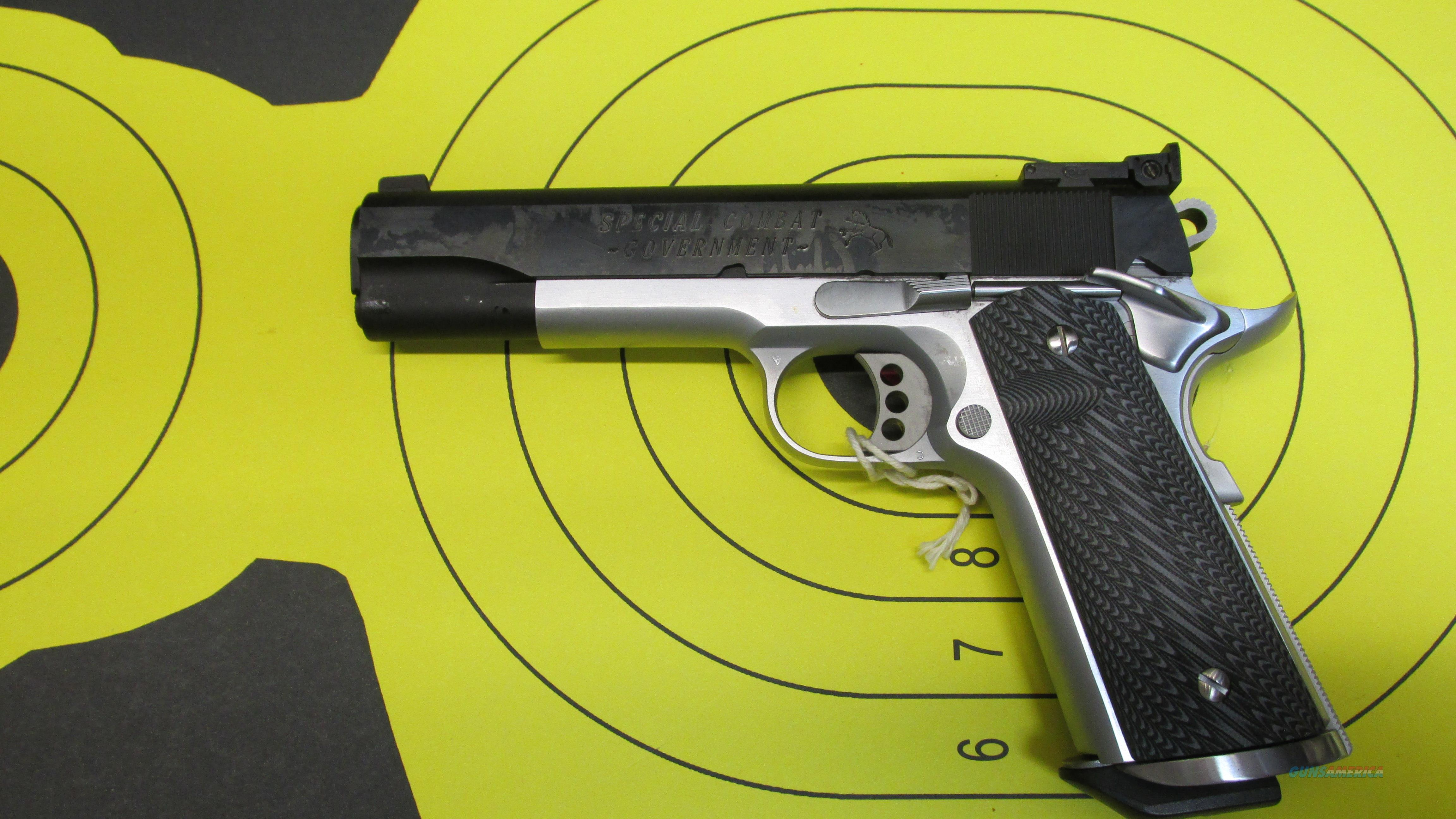 "COLT 1911 SPECIAL COMBAT COMPETITION 45ACP PISTOL 2 7 ROUND MAGAZINES WITH 5"" BARREL  Guns > Pistols > Colt Automatic Pistols (1911 & Var)"