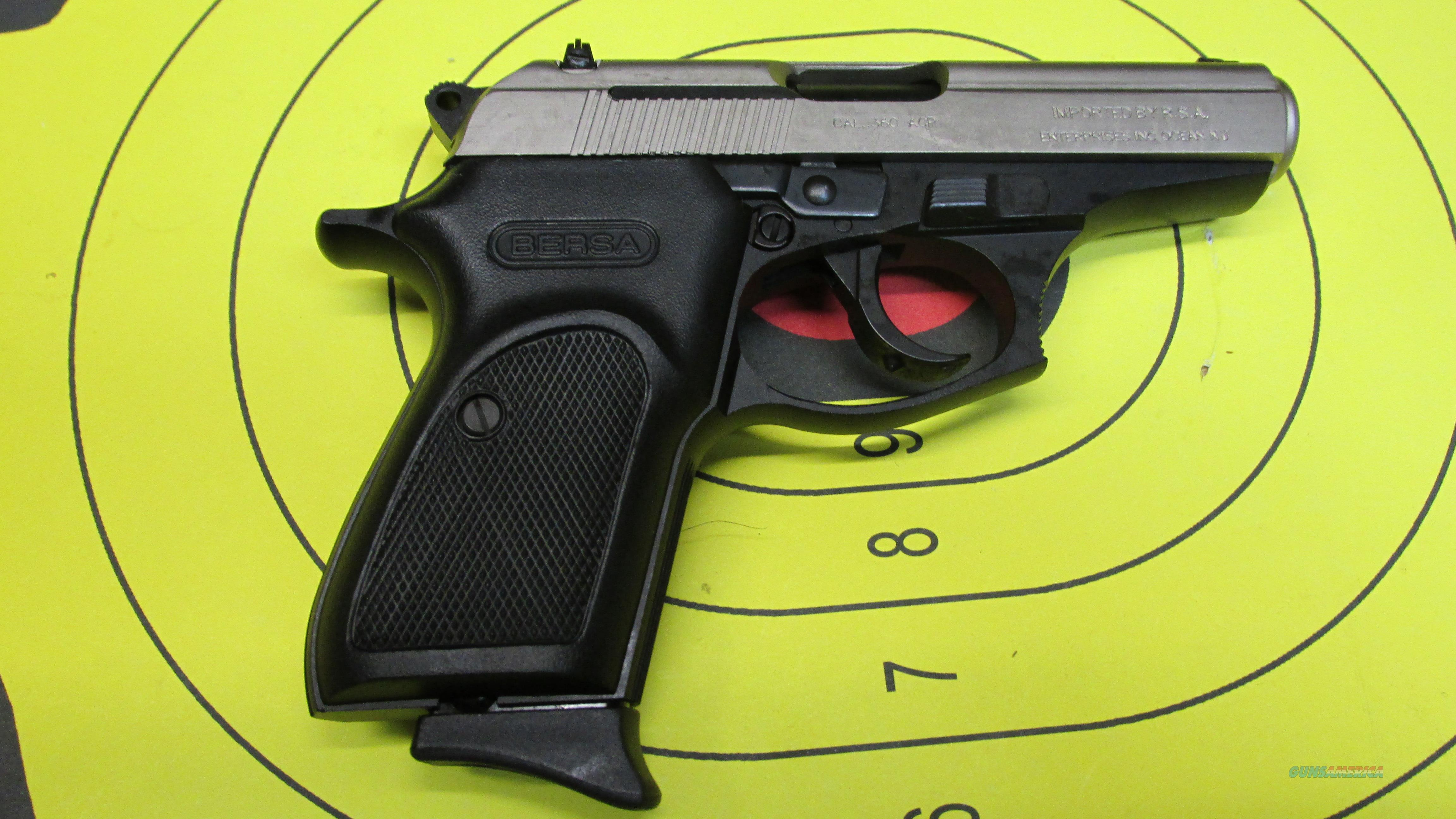 "BERSA THUNDER 380 REVERSE DUO TONE .380 ACP PISTOL 8 ROUND MAGAZINE WITH 3.5"" BARREL  Guns > Pistols > Bersa Pistols"