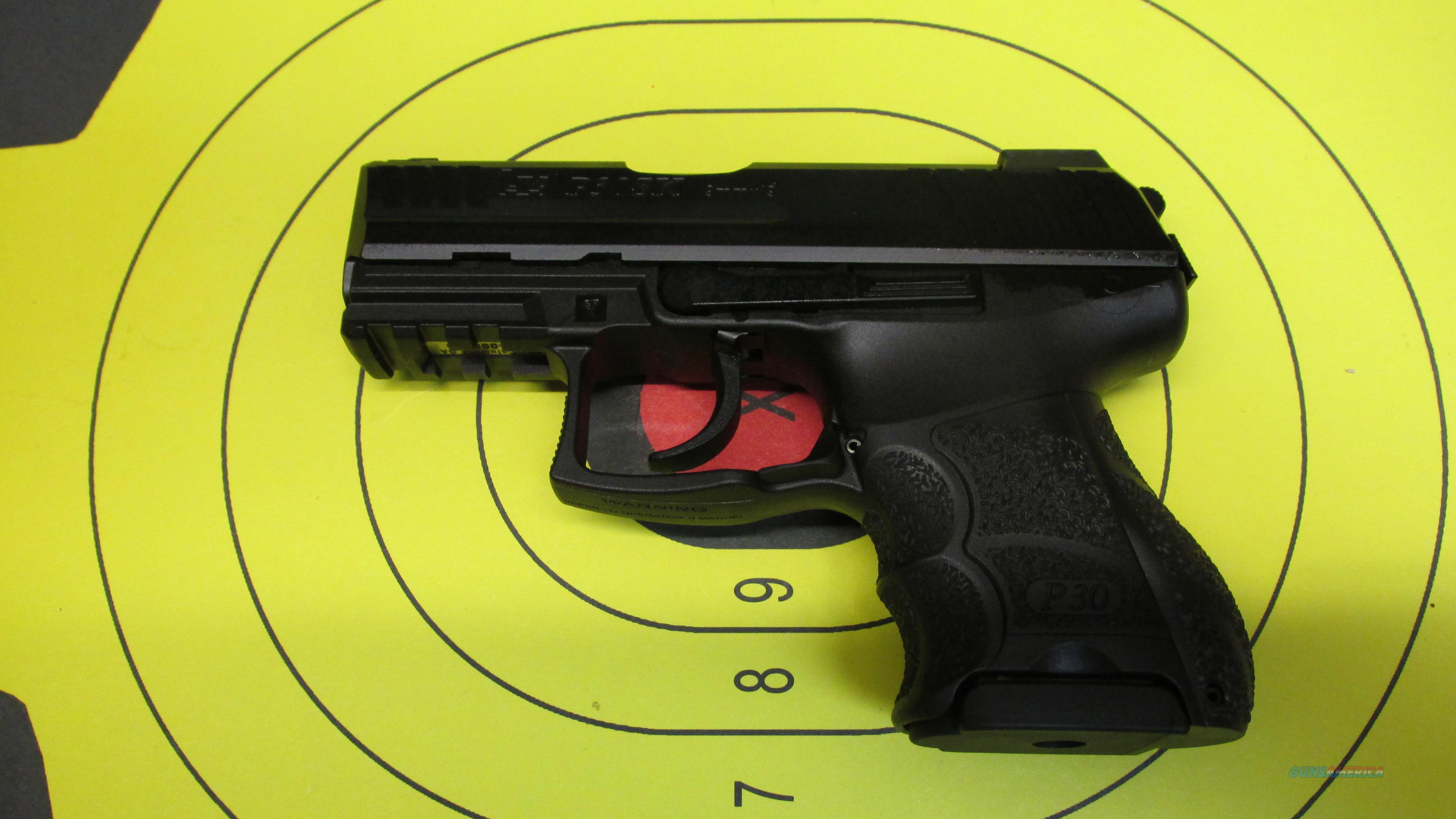 """HECKLER & KOCH P30SK 9MM PISTOL WITH NIGHT SIGHTS 3 10 ROUND MAGAZINES WITH 3.25"""" BARREL  Guns > Pistols > Heckler & Koch Pistols > Polymer Frame"""
