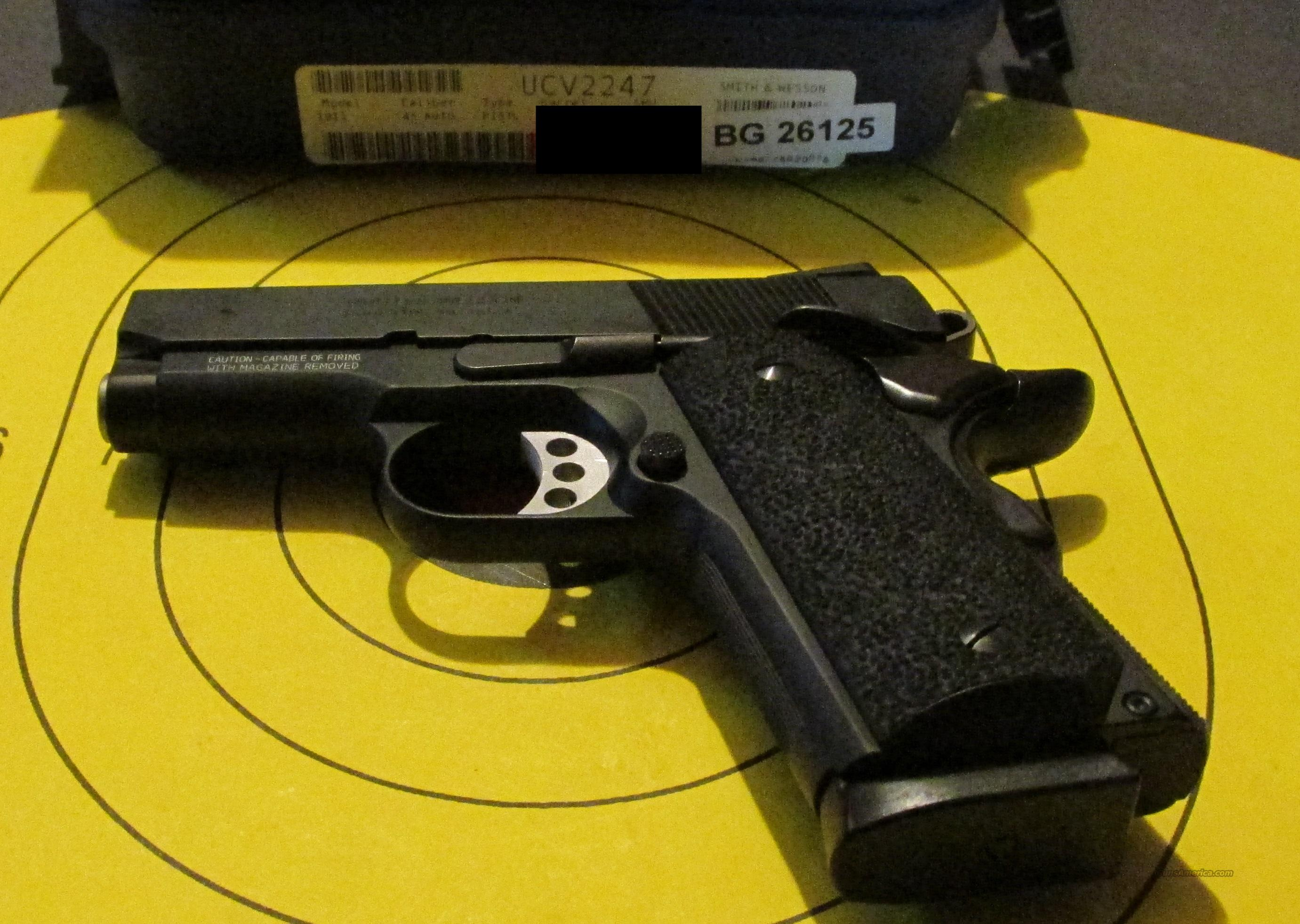 SMITH & WESSON 1911 PRO SERIES 45 ACP PISTOL  Guns > Pistols > Smith & Wesson Pistols - Autos > Steel Frame