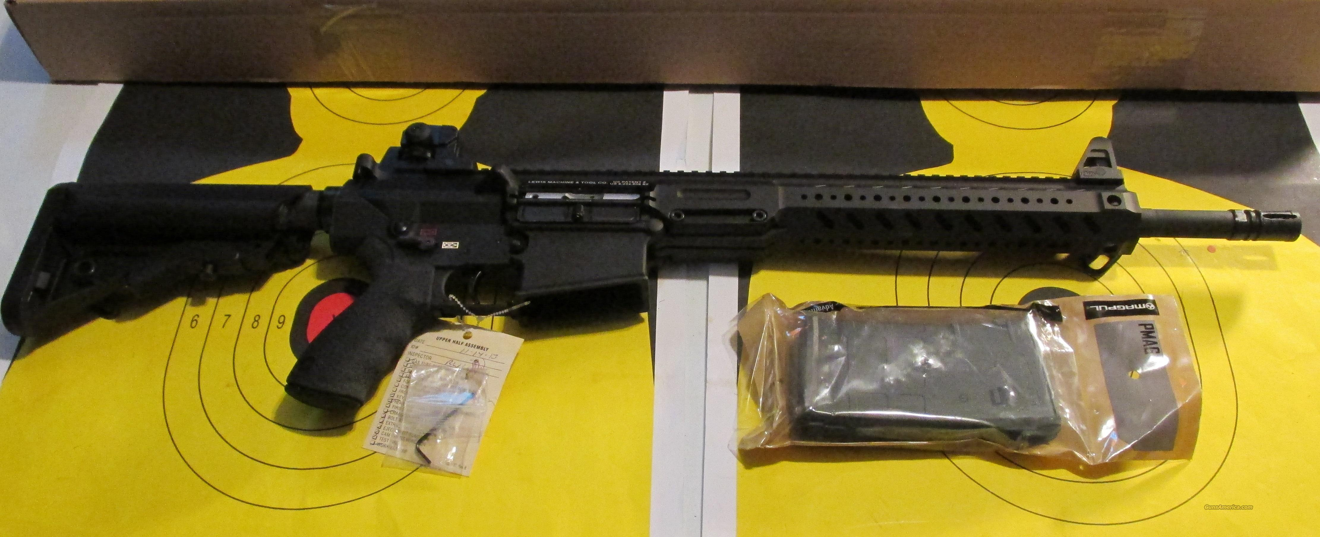 "LMT LM8MWS 16"" SLICK UPPER 308  Guns > Rifles > AR-15 Rifles - Small Manufacturers > Complete Rifle"