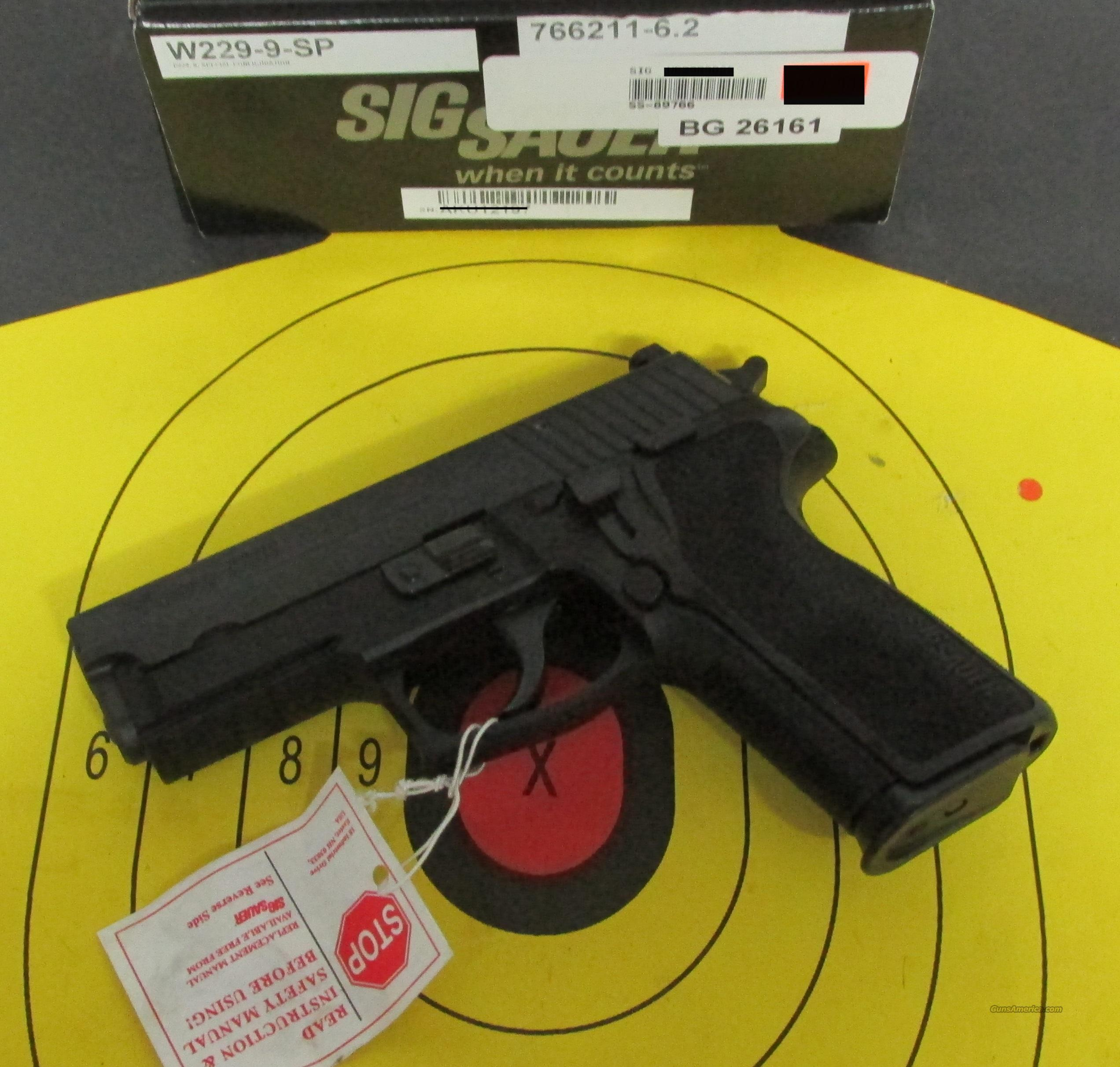 SIG SAUER W229-9-SP SPECIAL CONFIGURATION 9MM  Guns > Pistols > Sig - Sauer/Sigarms Pistols > P229