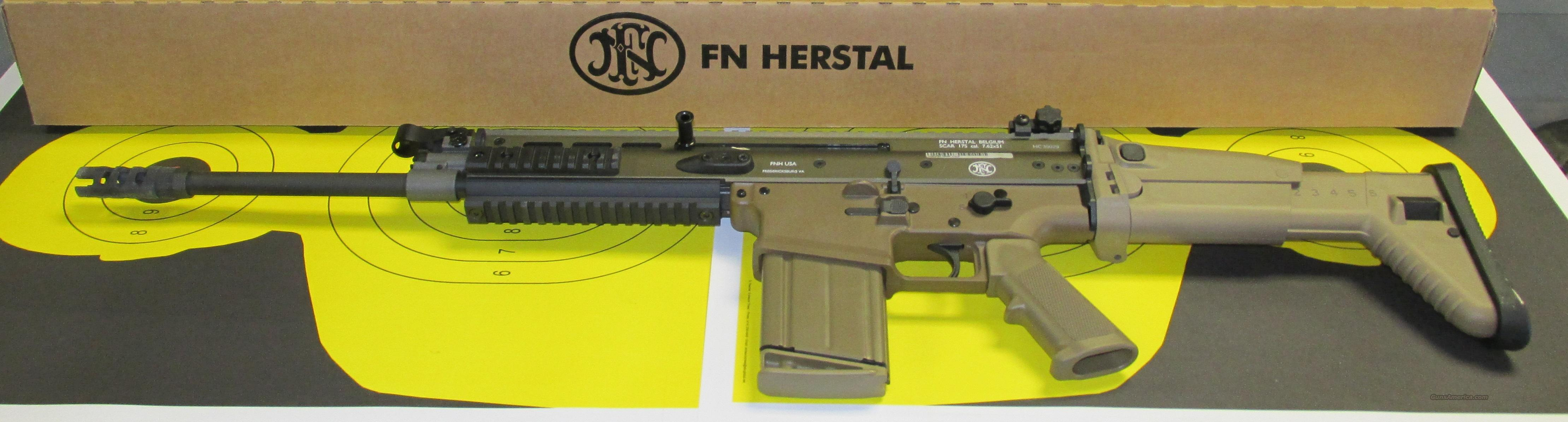 FNH FDE SCAR 17S Rifle   Guns > Rifles > FNH - Fabrique Nationale (FN) Rifles > Semi-auto > Other