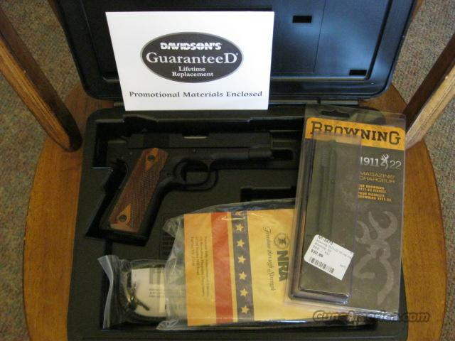 Browning  1911 compact .22  Guns > Pistols > Browning Pistols > Baby Browning