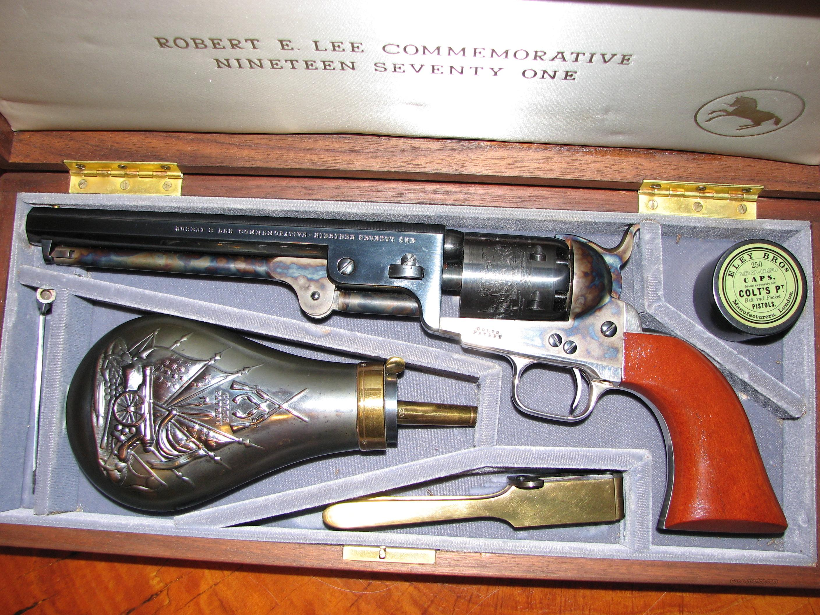 Robert E Lee 1971 Commemorative Black Powder  Guns > Pistols > Colt Commemorative Pistols