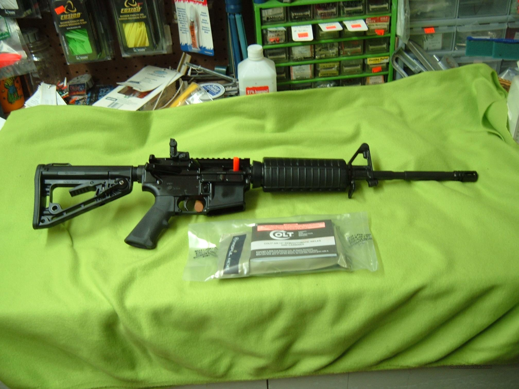 "COLT M4 AR-15 .556 , with 16"" barrel and popup rear peep sight  Guns > Rifles > Colt Military/Tactical Rifles"