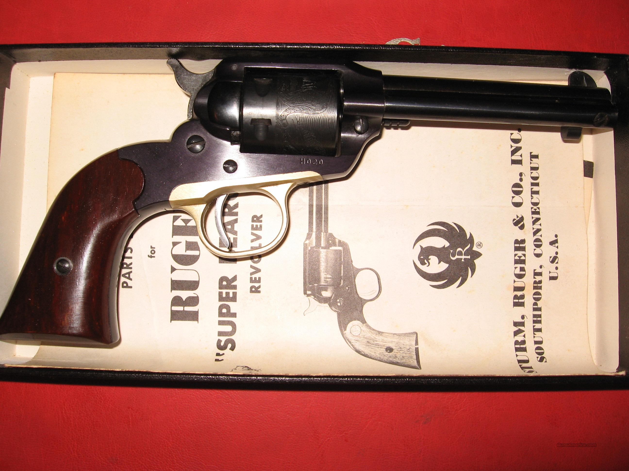 RUGER BEARCAT 1959 2ND YEAR ALPHABET MODEL  Guns > Pistols > Ruger Single Action Revolvers > Single Six Type