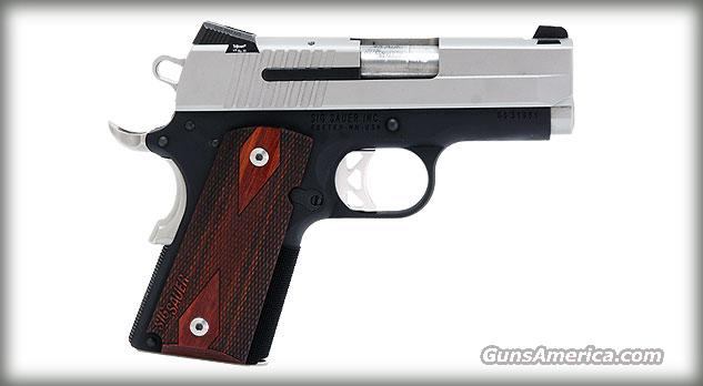 Sig Sauer 1911 Ultra Compact Two Tone  Guns > Pistols > Sig - Sauer/Sigarms Pistols > 1911