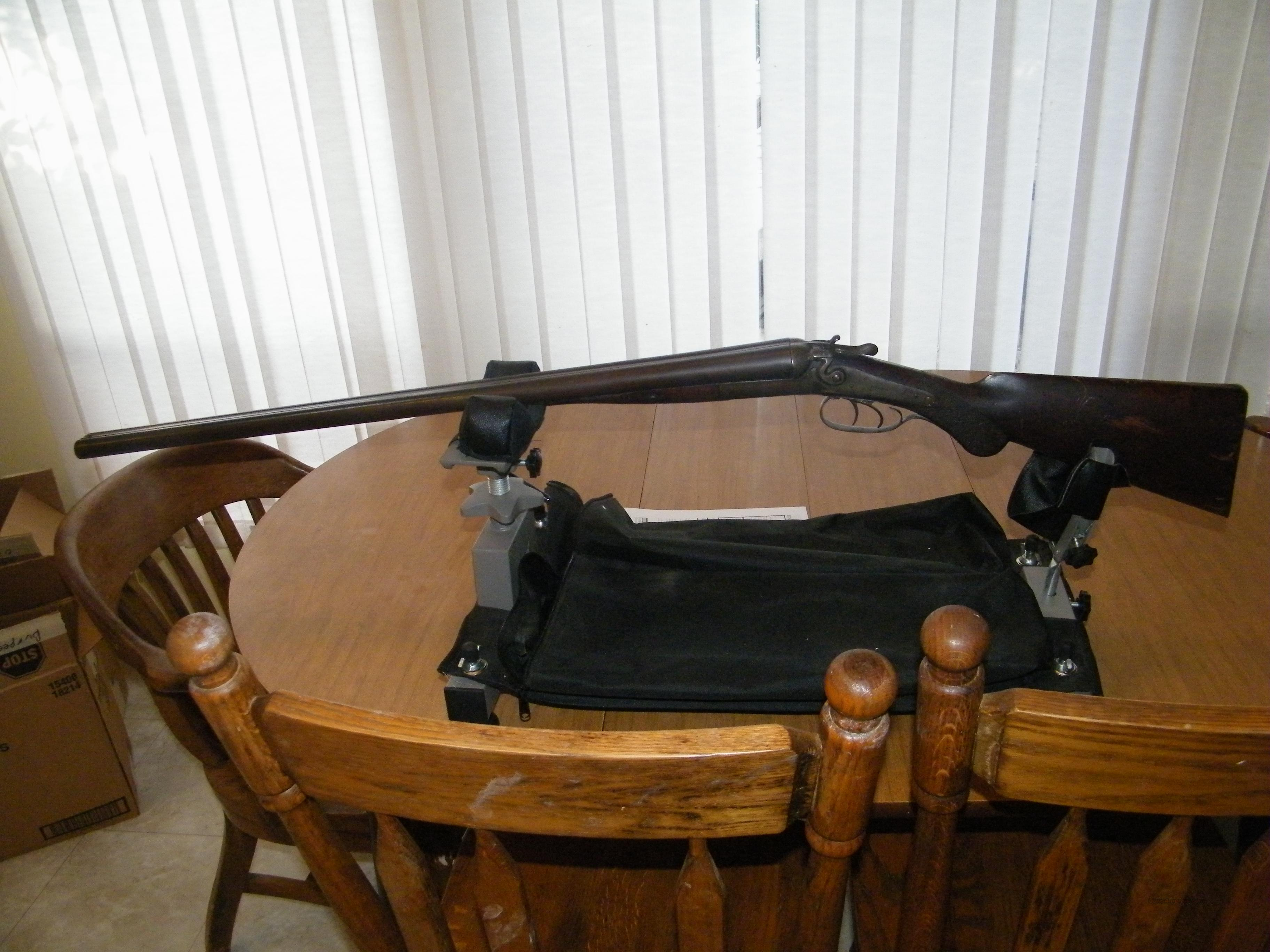 W. Richards Double Barrel Dual Trigger Dual Hammers 12 Guage , Antique  Guns > Shotguns > W Misc Shotguns