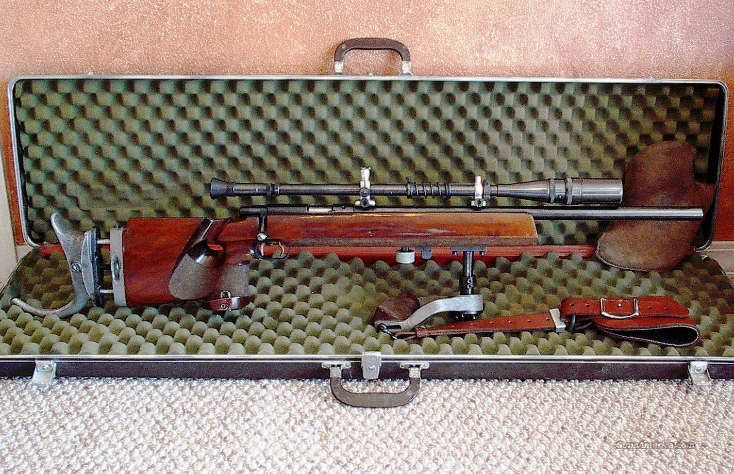 Anschutz Model 54 Match Rifle #1413  Guns > Rifles > Anschutz Rifles