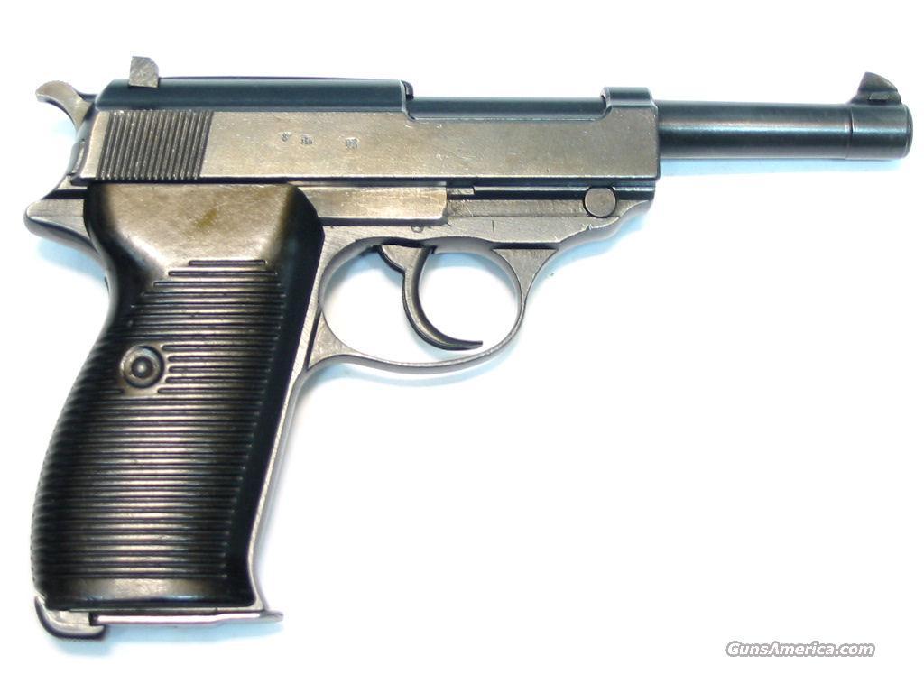 nazi p 38    Guns > Pistols > Mauser Pistols