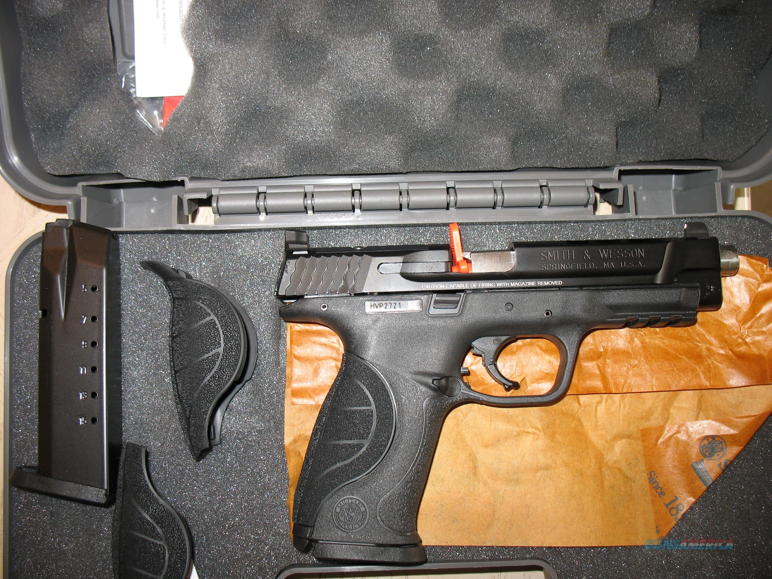 "Smith & Wesson (S&W) M&P Performance Center C.O.R.E. Ported .40L, 5"", 4 Mags  Guns > Pistols > Smith & Wesson Pistols - Autos > Polymer Frame"