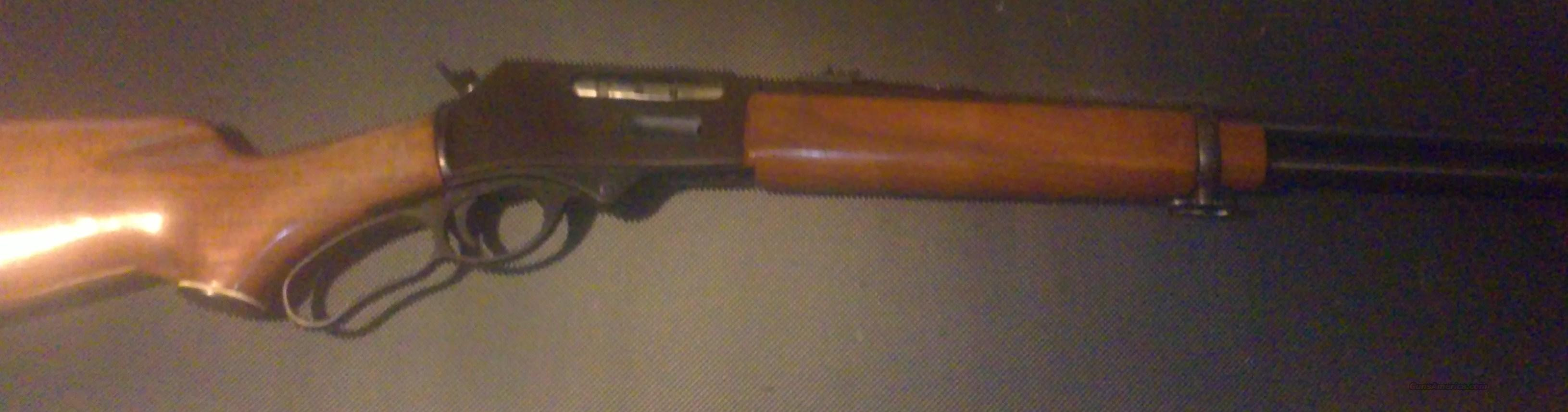 very old mossberg 30-30  Guns > Rifles > Mossberg Rifles > Lever Action