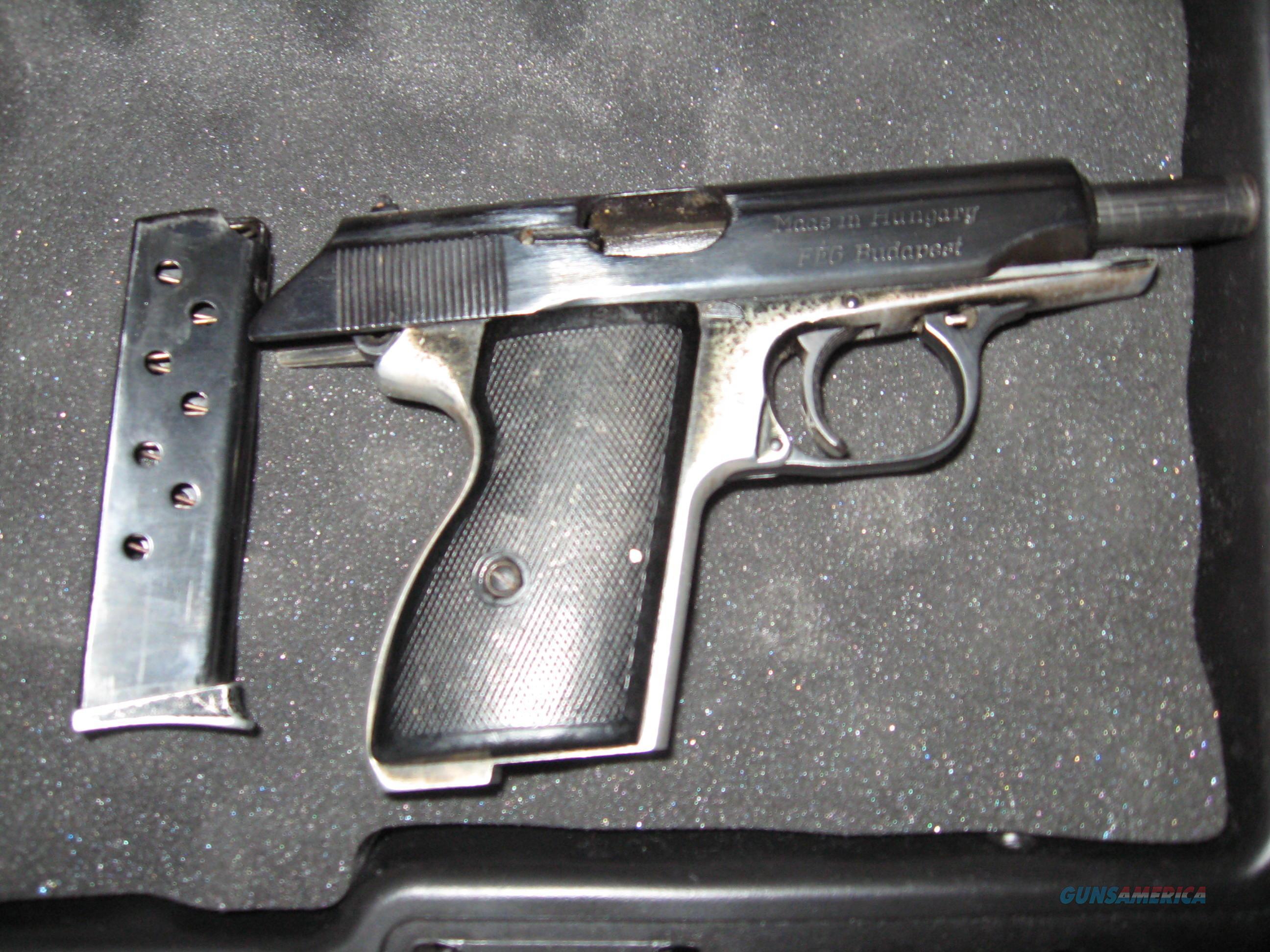 FEG AP-MBP pistol, 32ACP (7.65mm) caliber, used  Guns > Pistols > FEG Pistols