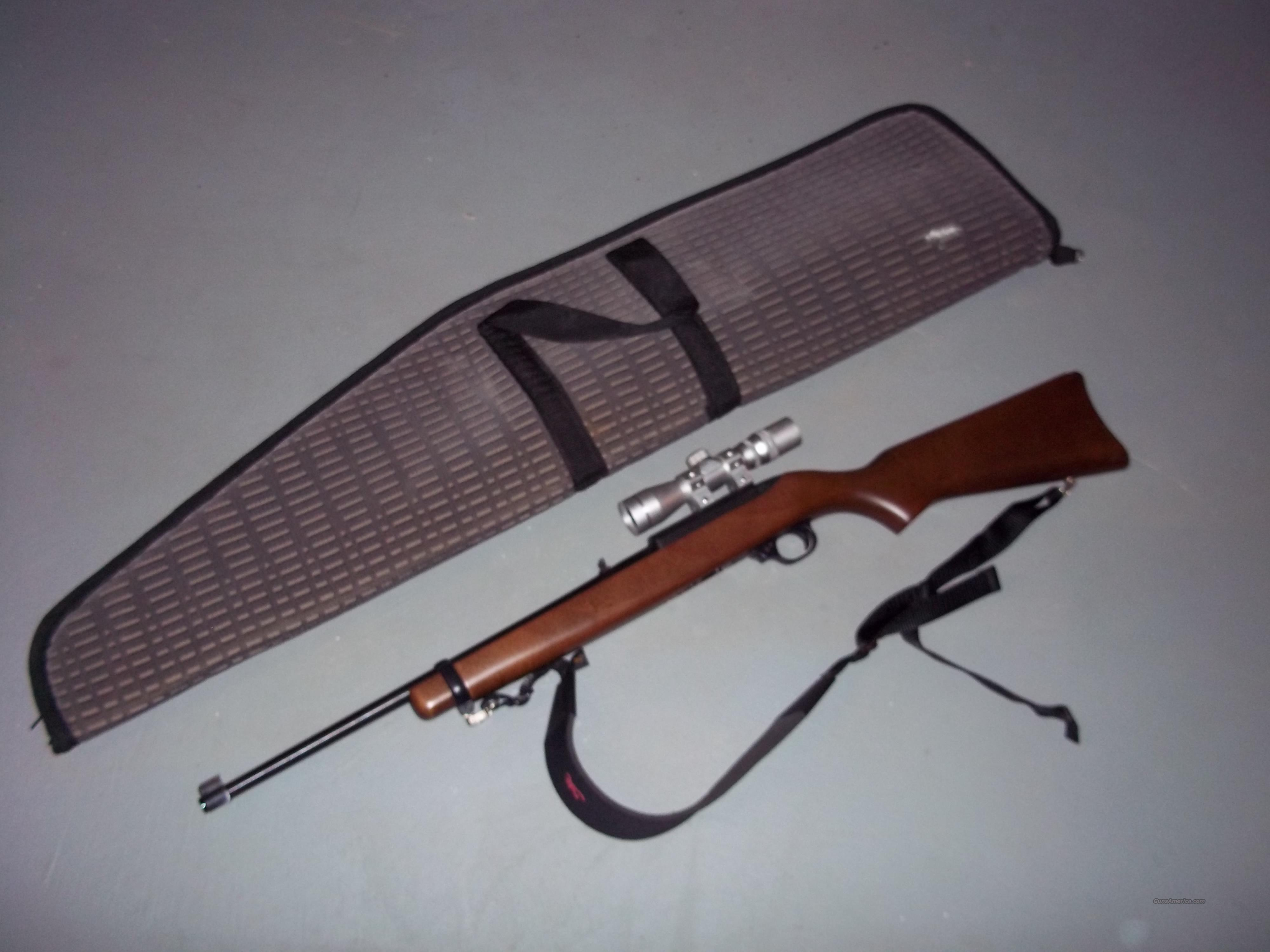 Ruger Model 10/22 Carbine .22 l.r.  Guns > Rifles > Ruger Rifles > 10-22