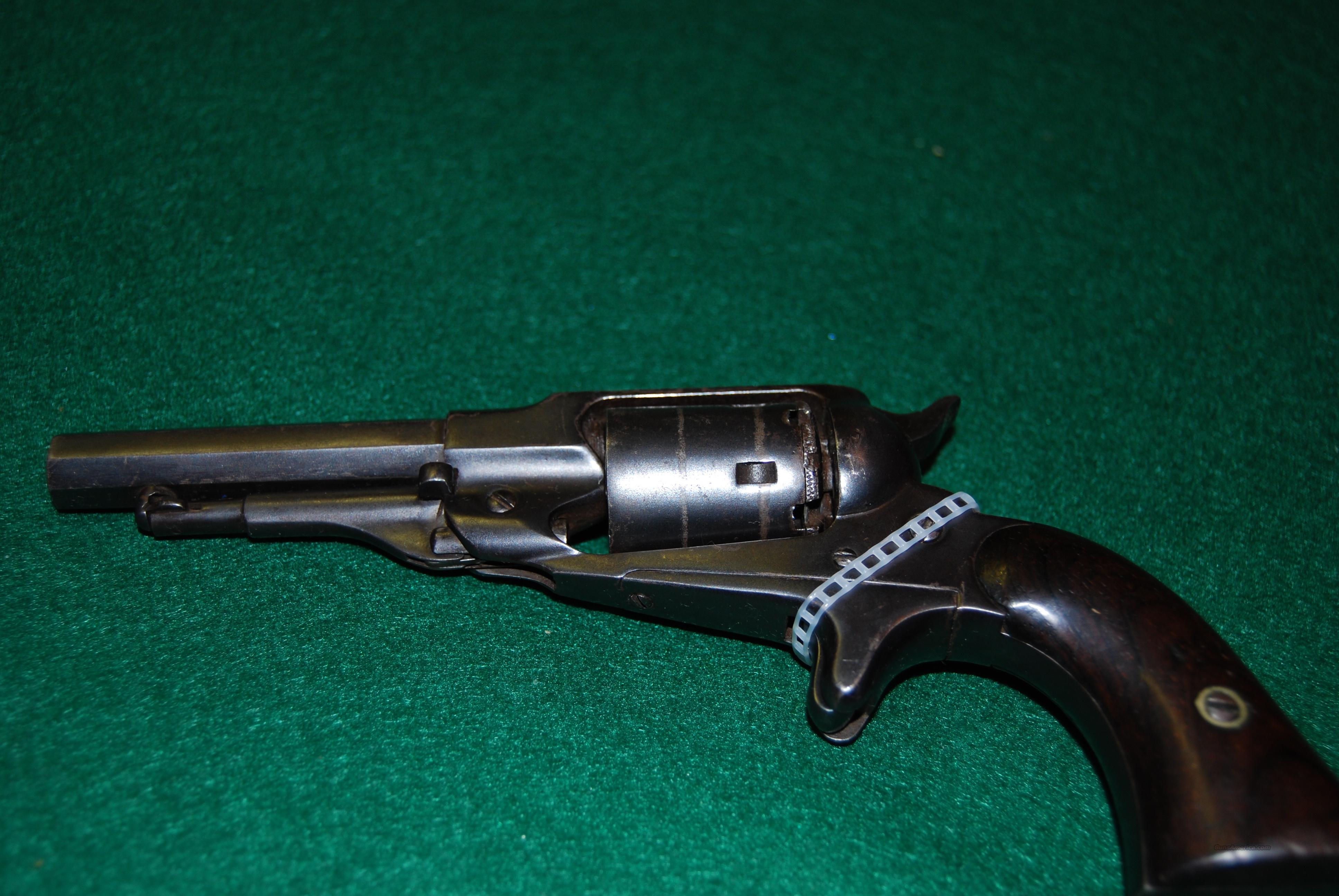 Remington New Model Pocket Revolver  Guns > Pistols > Remington Pistols - Pre-1899
