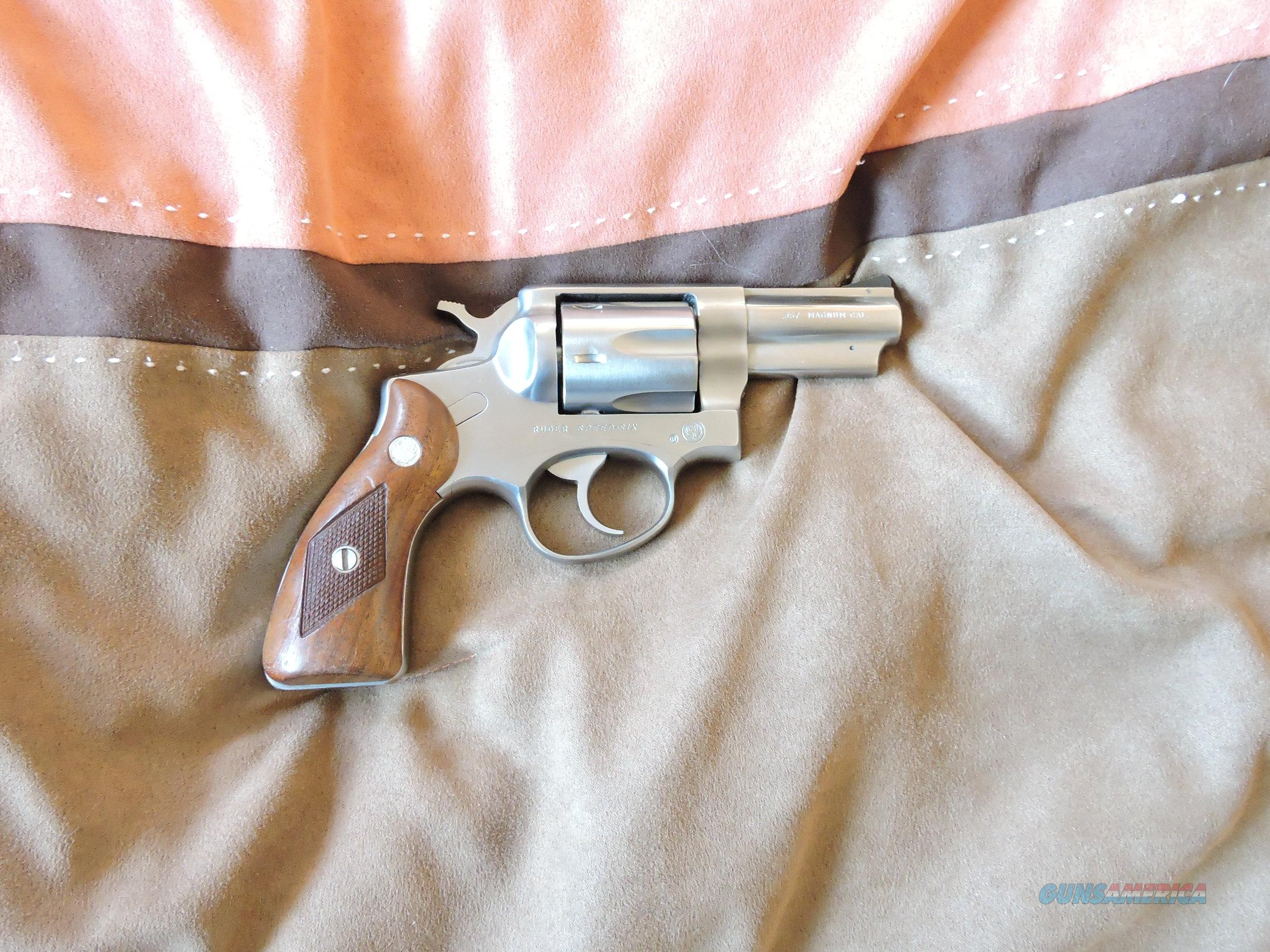 RUGER SPEED SIX .357 Magnum Revolver  Guns > Pistols > Ruger Double Action Revolver > Security Six Type