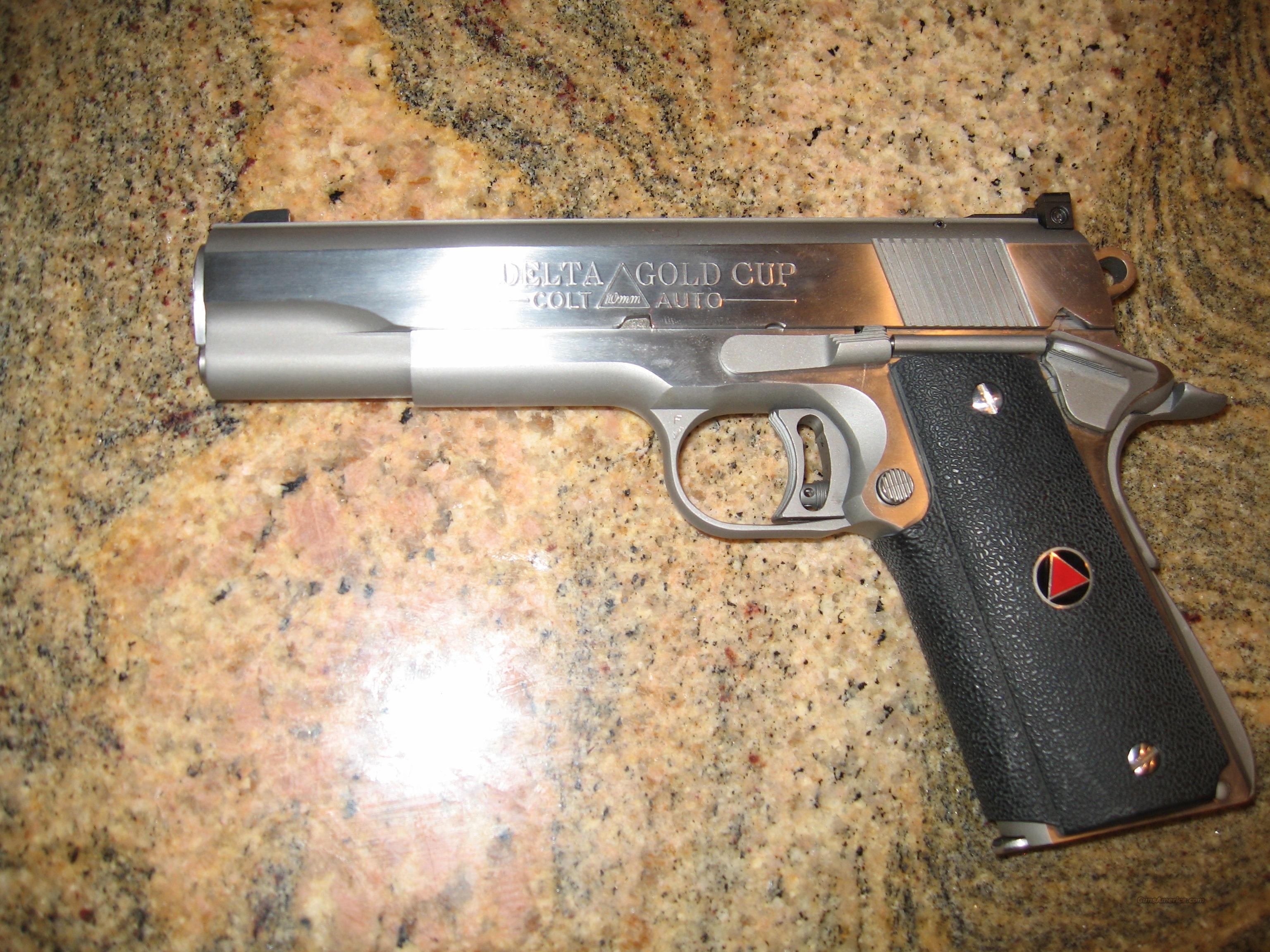 Colt 1911 Pistols 10mm Gold Cup Handgun Image Information Kimber Exploded View Diagram Lzk Gallery Delta En