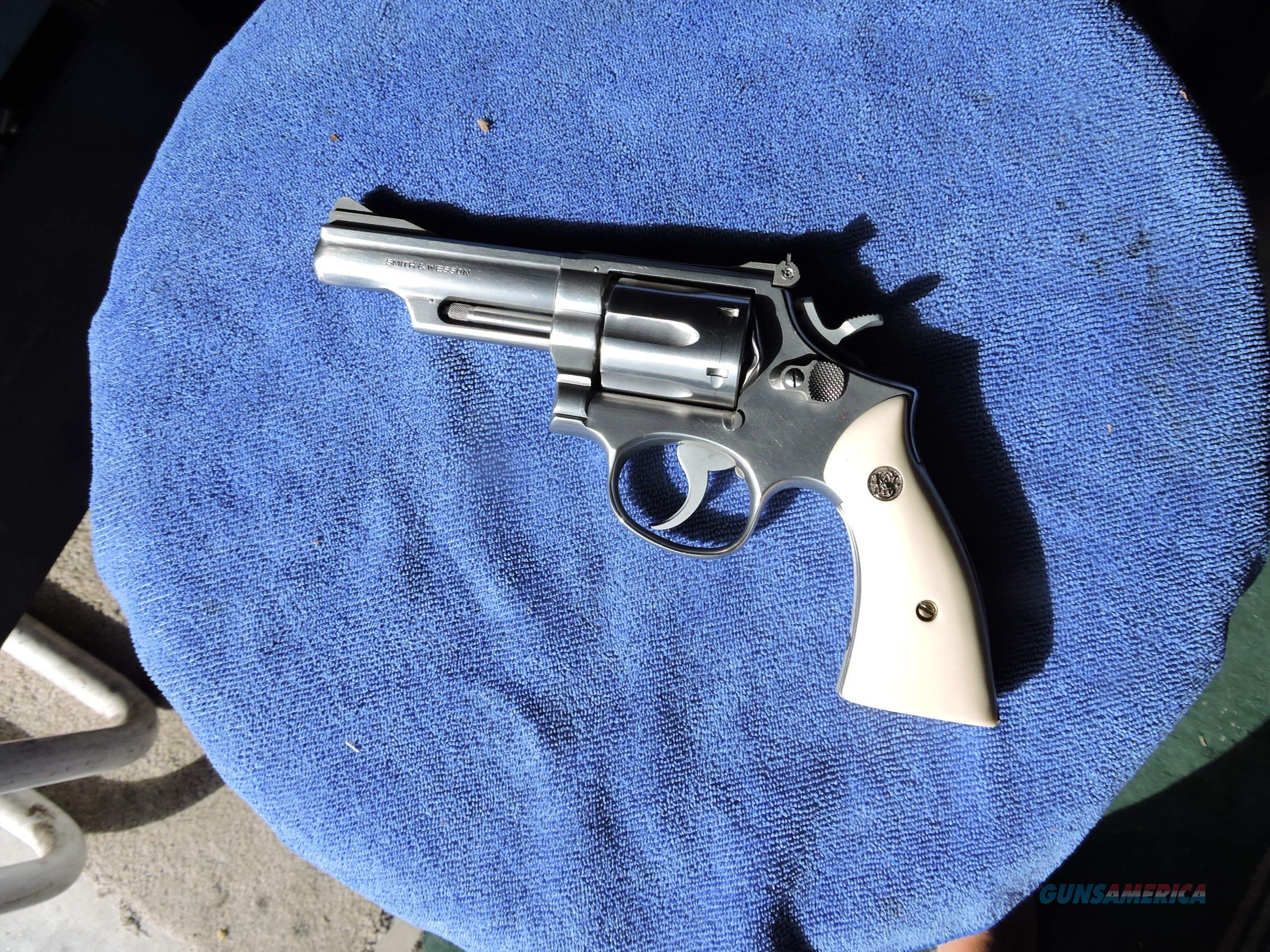 "Smith & Wesson Model 66 (no dash) .357 Magnum Revolver, 4"" BBL  Guns > Pistols > Smith & Wesson Revolvers > Med. Frame ( K/L )"