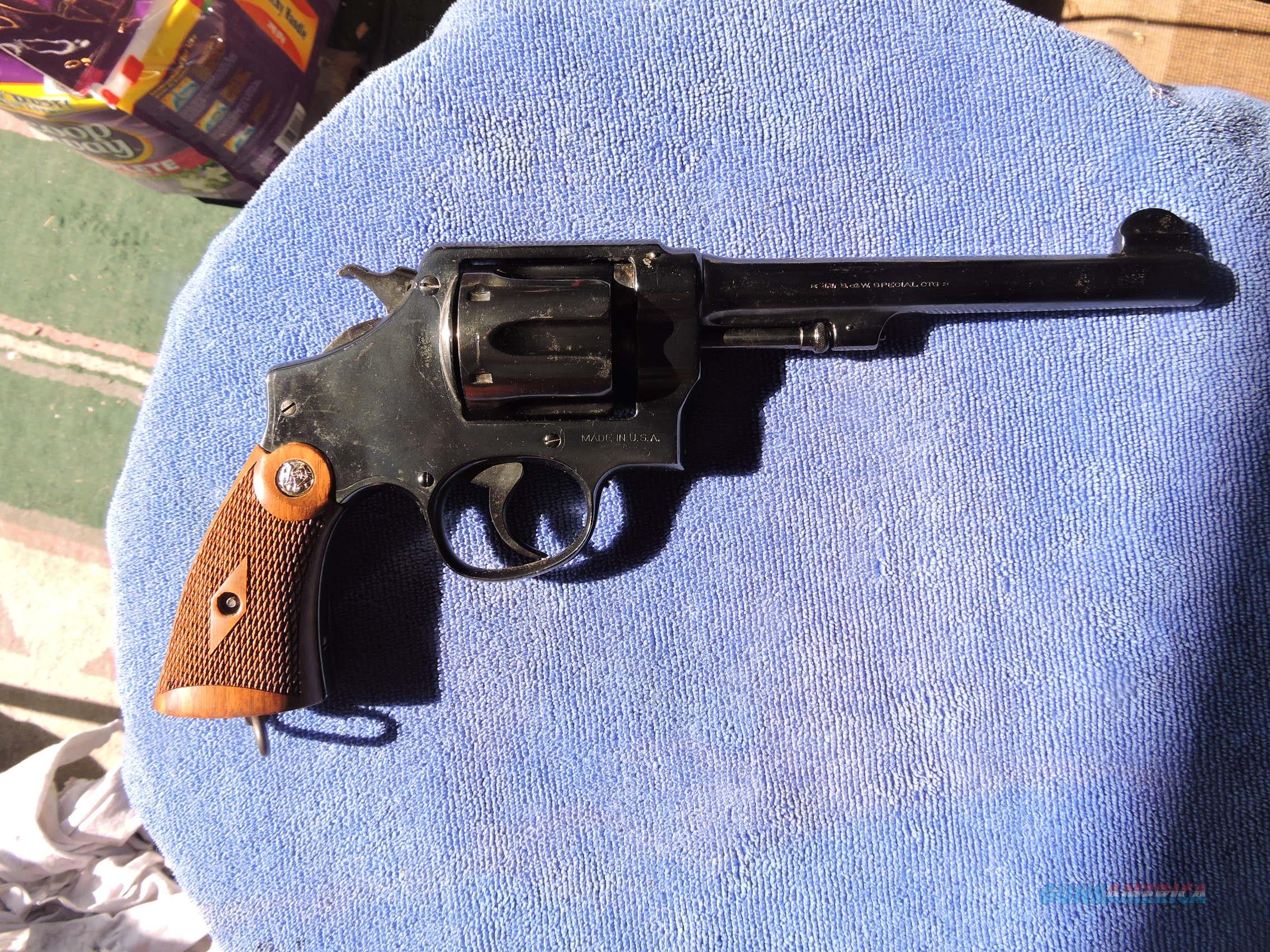 SMITH & WESSON Hand Ejector 2nd Model .44 Special Revolver  Guns > Pistols > Smith & Wesson Revolvers > Full Frame Revolver