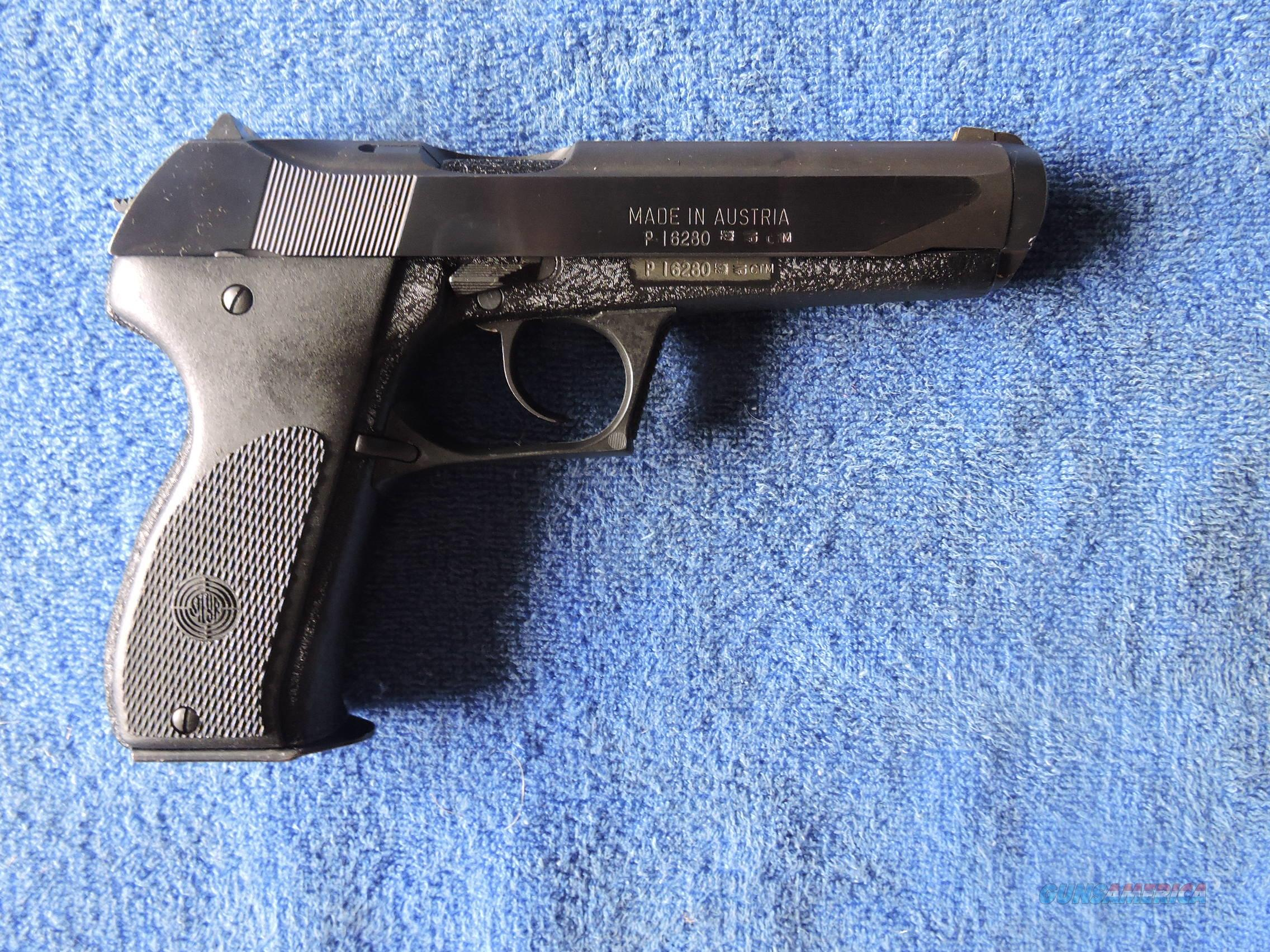 STEYR GB 9mm Pistol with two 18 round Mags!  Guns > Pistols > Steyr Pistols