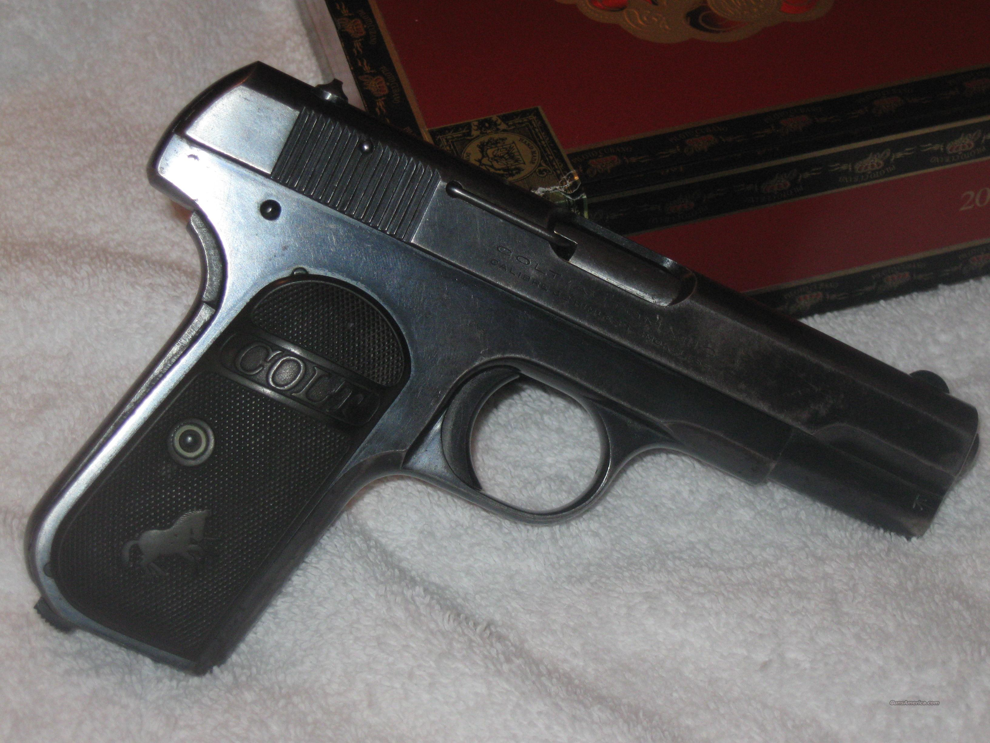 1903 colt 32 great condition  Guns > Pistols > Colt Automatic Pistols (.25, .32, & .380 cal)
