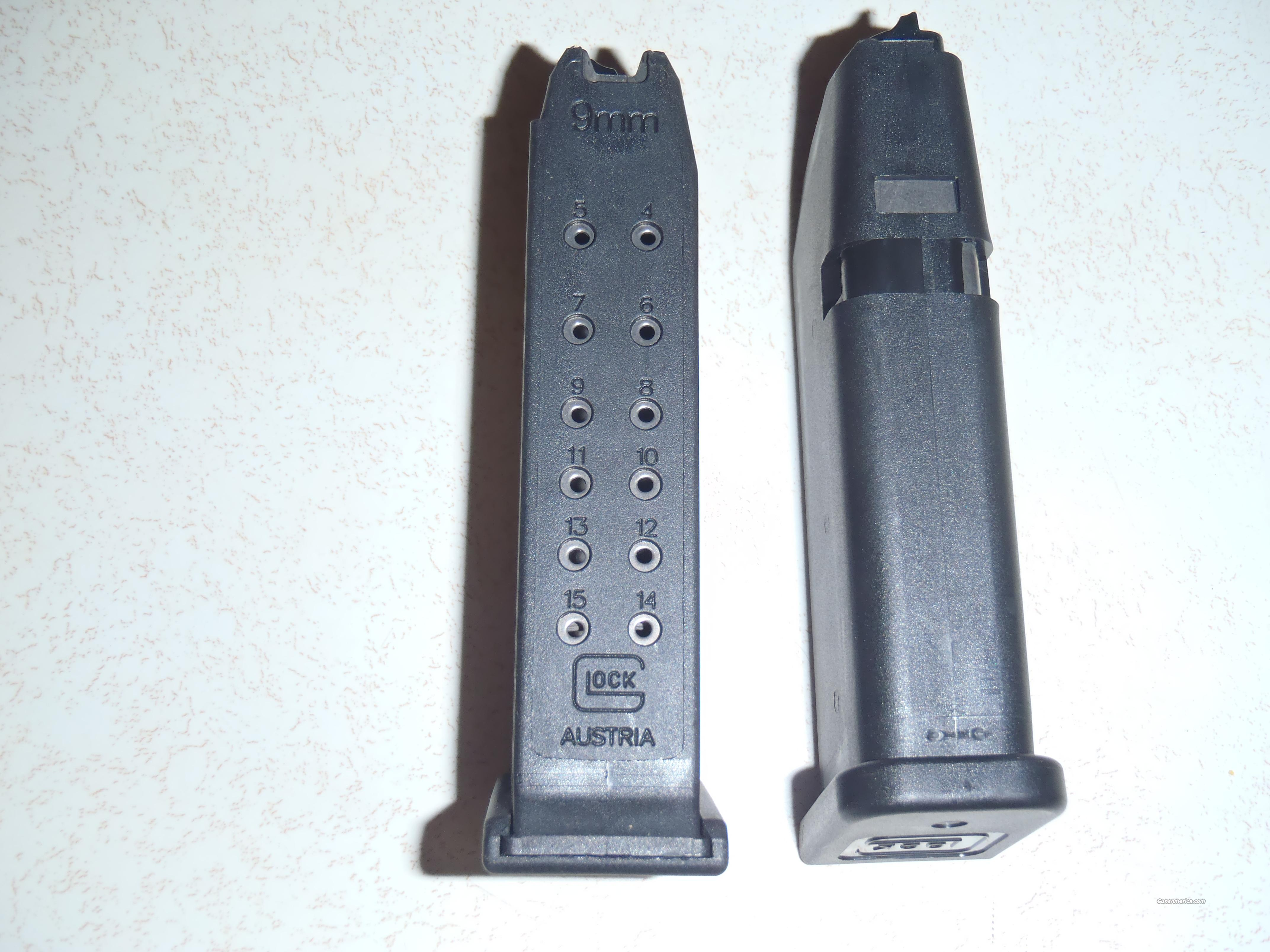 Glock 19 Mags Factory New  Non-Guns > Magazines & Clips > Pistol Magazines > Glock