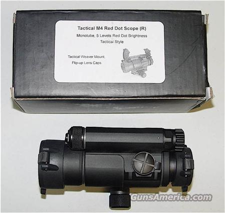 TACTICAL RED DOT SCOPE! CHECK IT OUT!  Non-Guns > Scopes/Mounts/Rings & Optics > Tactical Scopes > Red Dot