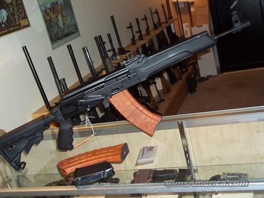 Saiga rifle 5.45x39 with 6 positions adjustable stock & 2 - 30round mags & 1 - 10 round mag & a Chrome Lined Barrel$640.00  Guns > Rifles > AK-47 Rifles (and copies) > Folding Stock
