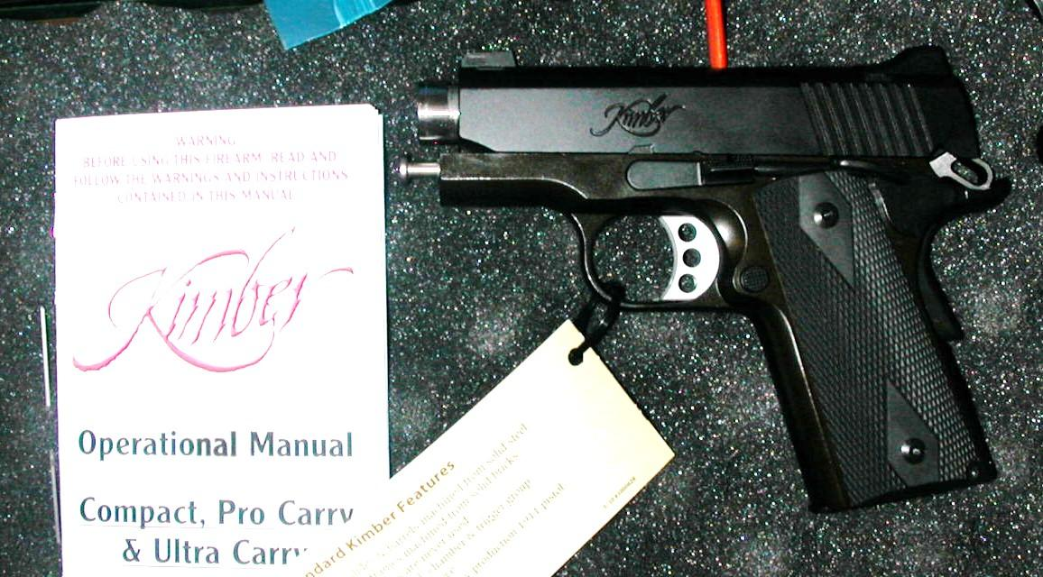 Kimber Ultra Carry II, NS, 45 cal., NIB  Guns > Pistols > Kimber of America Pistols