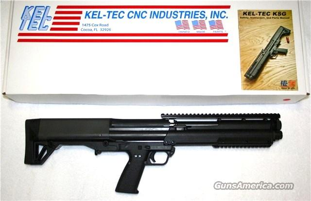 KEL TEC KSG pump action, 12 gauge shotgun, NIB  Guns > Shotguns > Kel-Tec Shotguns > KSG