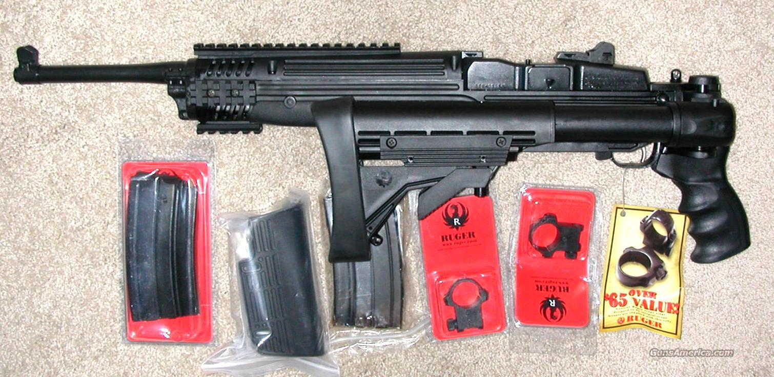 Ruger Mini 14, Tactical, Folder, 223/556 cal., NIB  Guns > Rifles > Ruger Rifles > Mini-14 Type