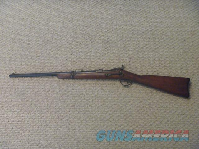 SPRINGFIELD MODEL 1873 45-70 TRAPDOOR CARBINE  Guns > Rifles > Antique (Pre-1899) Rifles - Ctg. Misc.