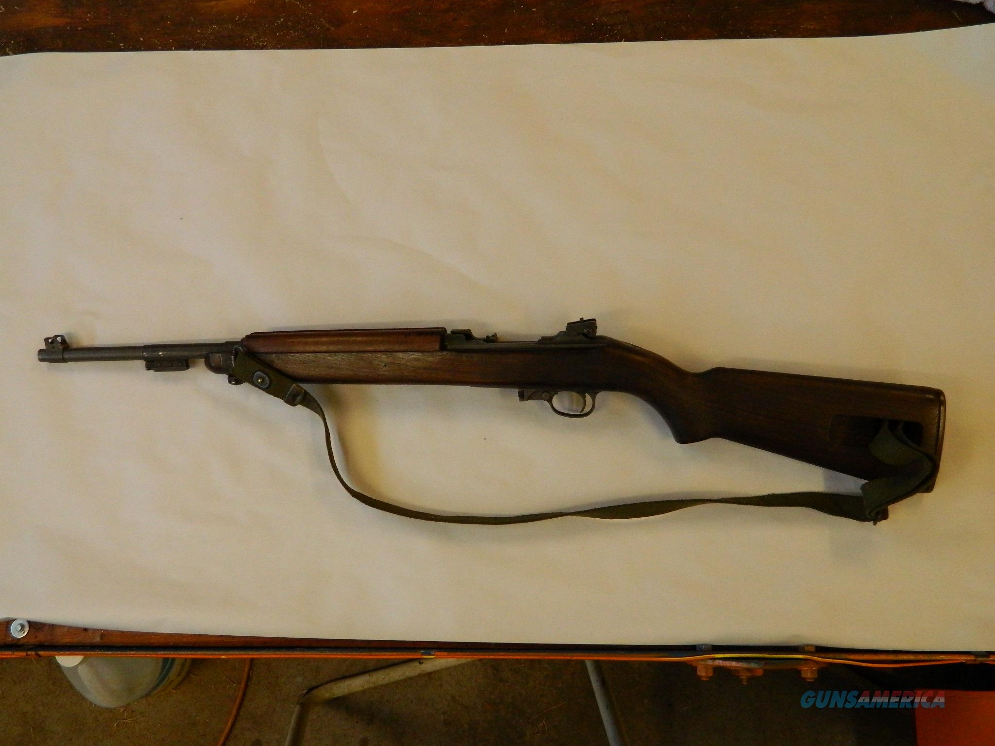 M-1 Carbine  Guns > Rifles > A Misc Rifles