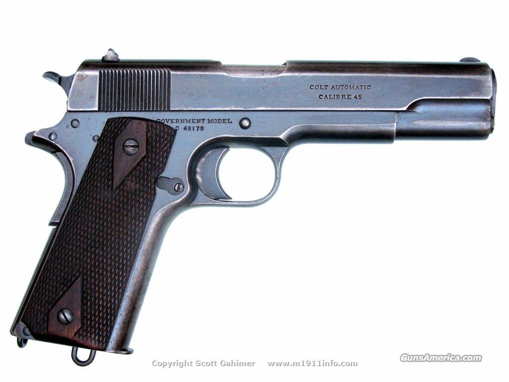 1916 Colt Government Model...All Original.  Guns > Pistols > Colt Automatic Pistols (1911 & Var)