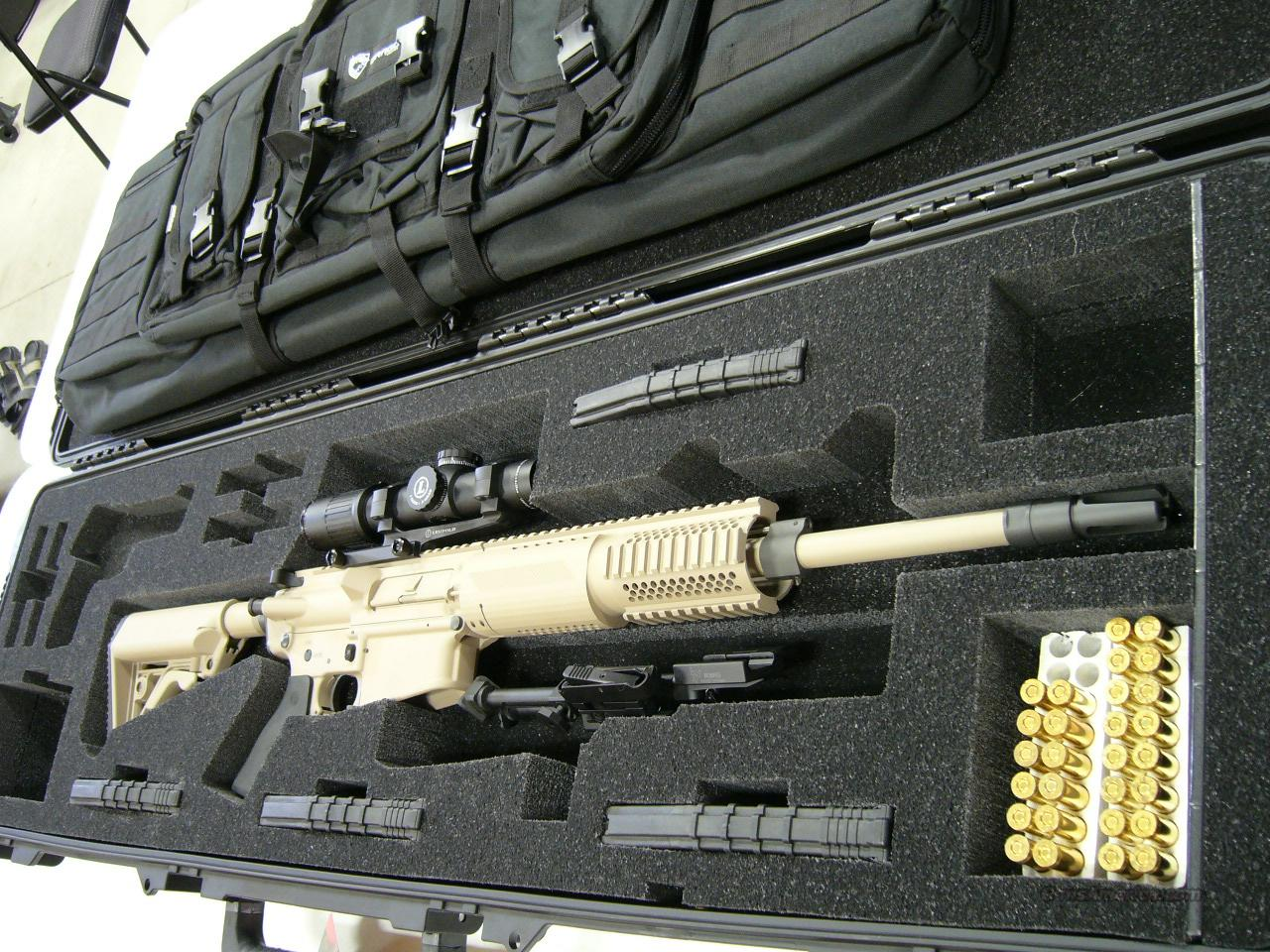 TACTICAL CUSTOM .308 ROCK RIVER ARMS W/ LEUPOLD... for sale