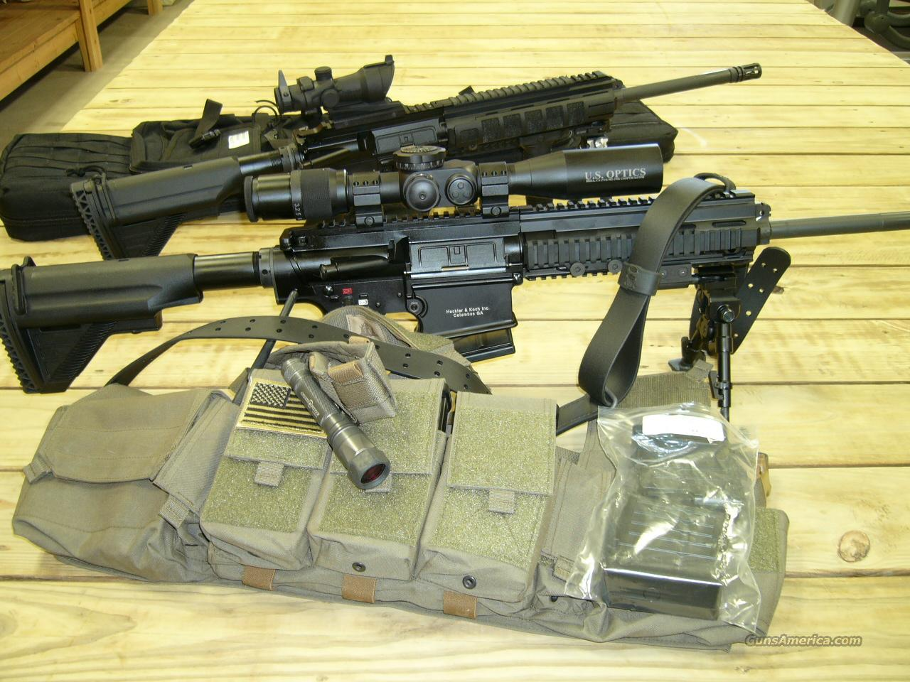 H&K MR762A1 HK  417 HECKLER KOCH NOT HK MR 556 A1 HK 416  Guns > Rifles > Heckler & Koch Rifles > Tactical