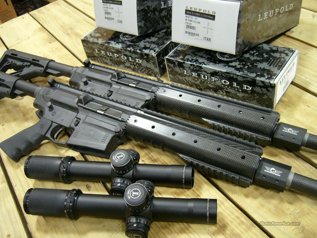 CHRISTENSEN TACTICAL .308 RIFLES WITH LEUPOLD MARK 8 AND WILSON COMBAT MOUNTS IN STOCK!  Guns > Rifles > Heckler & Koch Rifles > Tactical