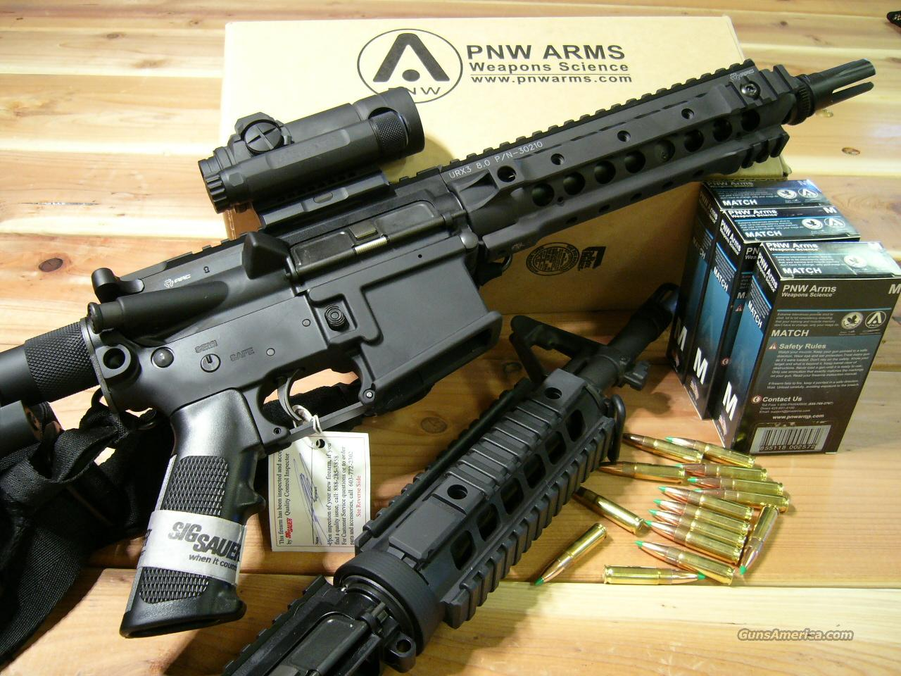 LEGAL SBR NO STAMP SIG SAUER & KNIGHTS W/ MAGPUL & AIMPOINT NO STAMP!  Guns > Rifles > Tactical/Sniper Rifles