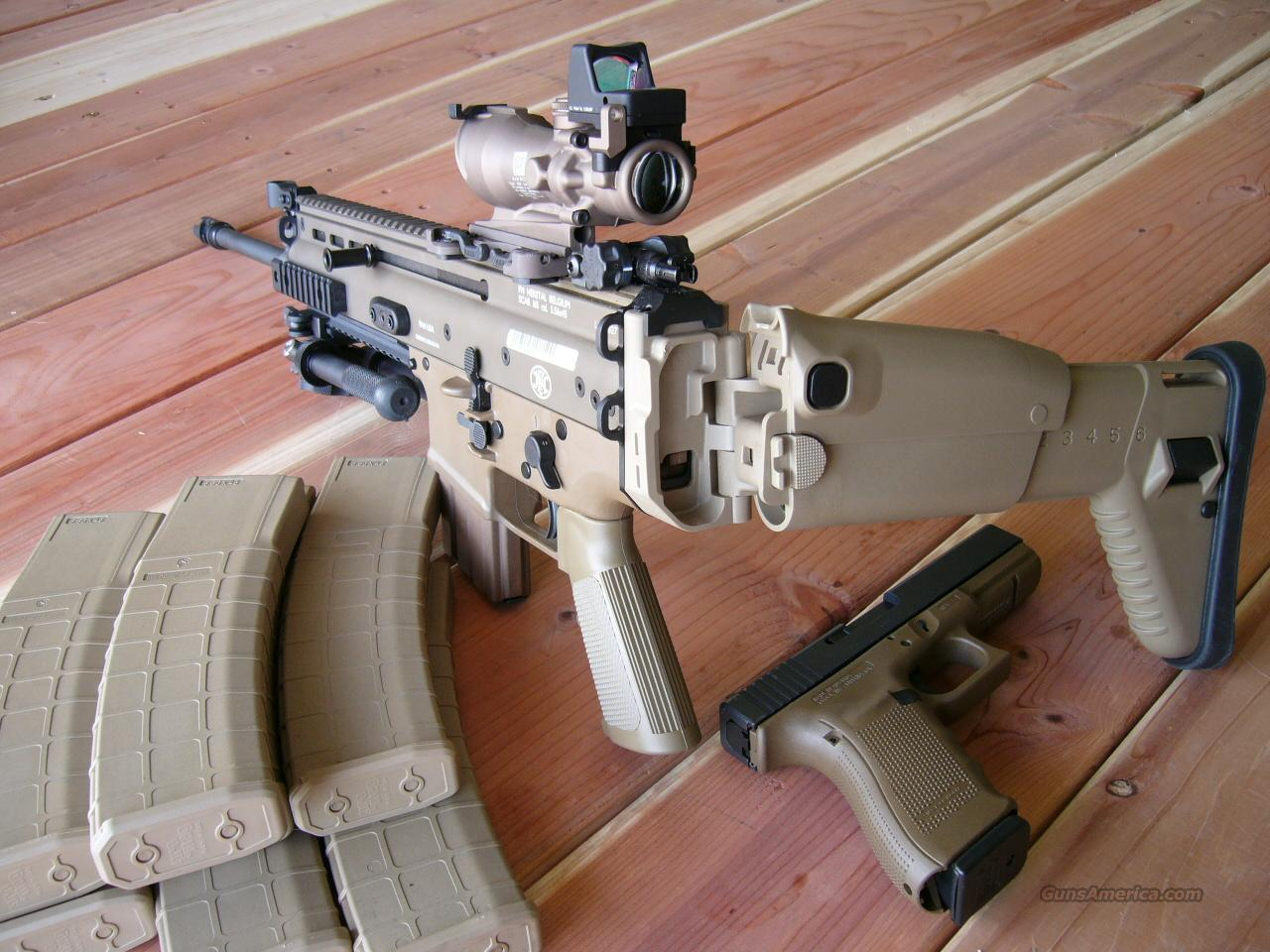 LAW ENFORCEMENT SCAR PACKAGE FNH 16S TRIJICON ACOG MAGPUL GEISSELE 17S .223 5.56mm   Guns > Rifles > Heckler & Koch Rifles > Tactical
