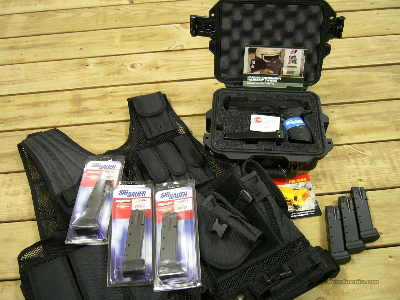 BLACKWATER CUSTOM FIVE 20 ROUND MAGS SIG SAUER LIMITED RUN IN STOCK 9mm HIGH CAPACITY  Guns > Pistols > Sig - Sauer/Sigarms Pistols > P226