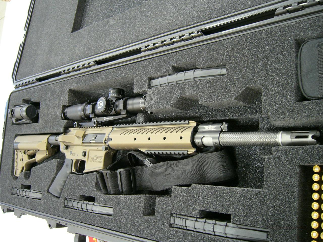 CHRISTENSEN ARMS CUSTOM ORDER W/ LEUPOLD MARK 8 1-8X MOUNTED WITH LEUPOLD IMS MARK 8 BASE IN STOCK   Guns > Rifles > Tactical/Sniper Rifles
