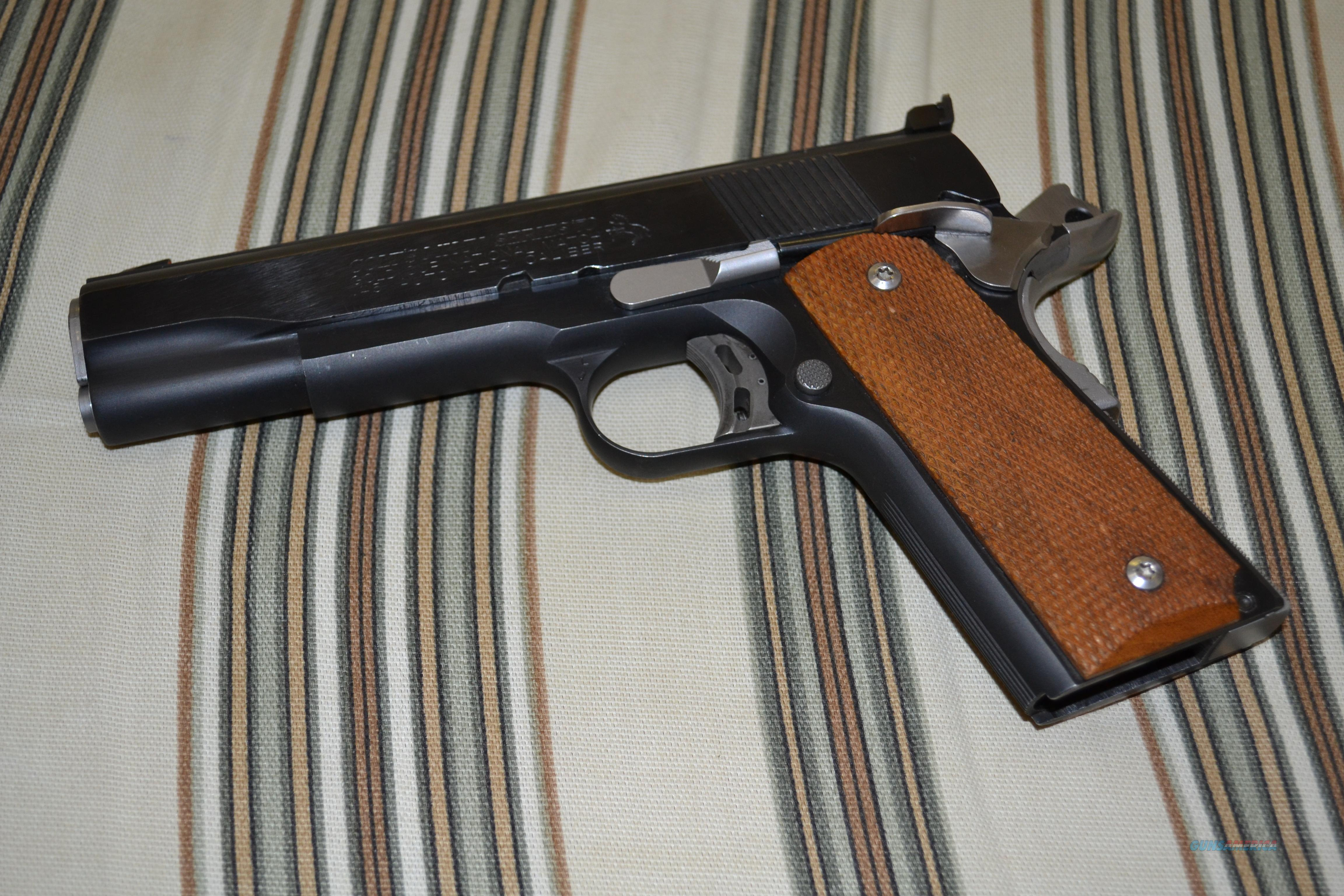 1974 Gold Cup NM Custom  Guns > Pistols > Colt Automatic Pistols (1911 & Var)