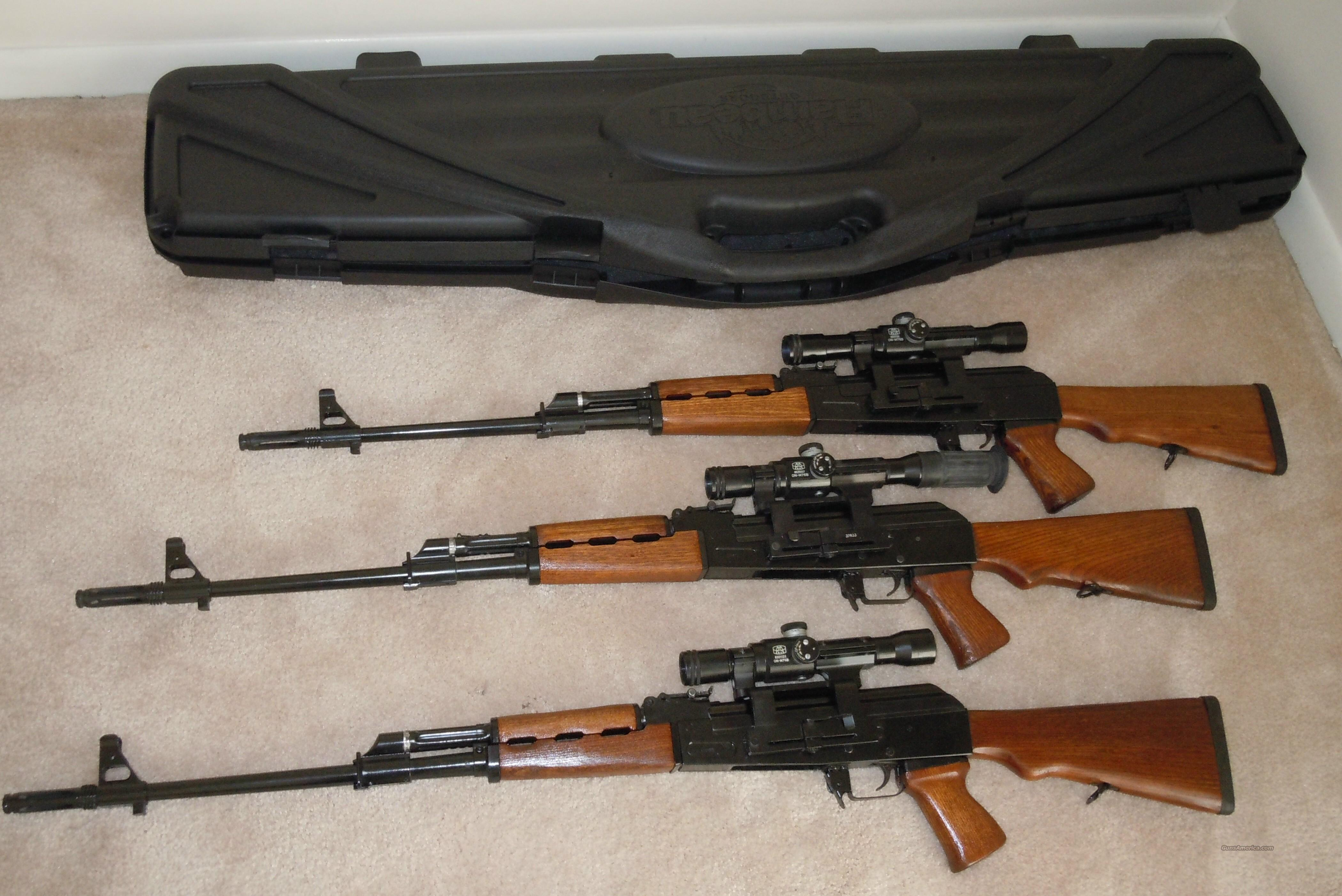 YUGO M76 Sniper Rifle 8mm  Guns > Rifles > AK-47 Rifles (and copies) > Full Stock