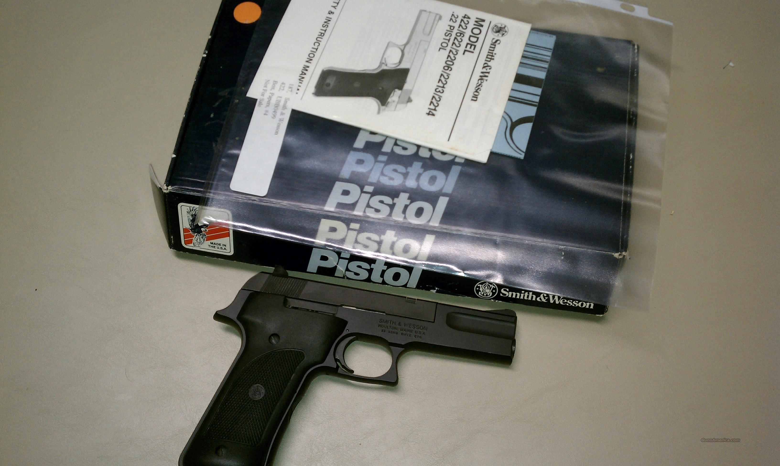 Smith & Wesson 422 .22 LR Cal. Auto  Guns > Pistols > Smith & Wesson Pistols - Autos > Alloy Frame