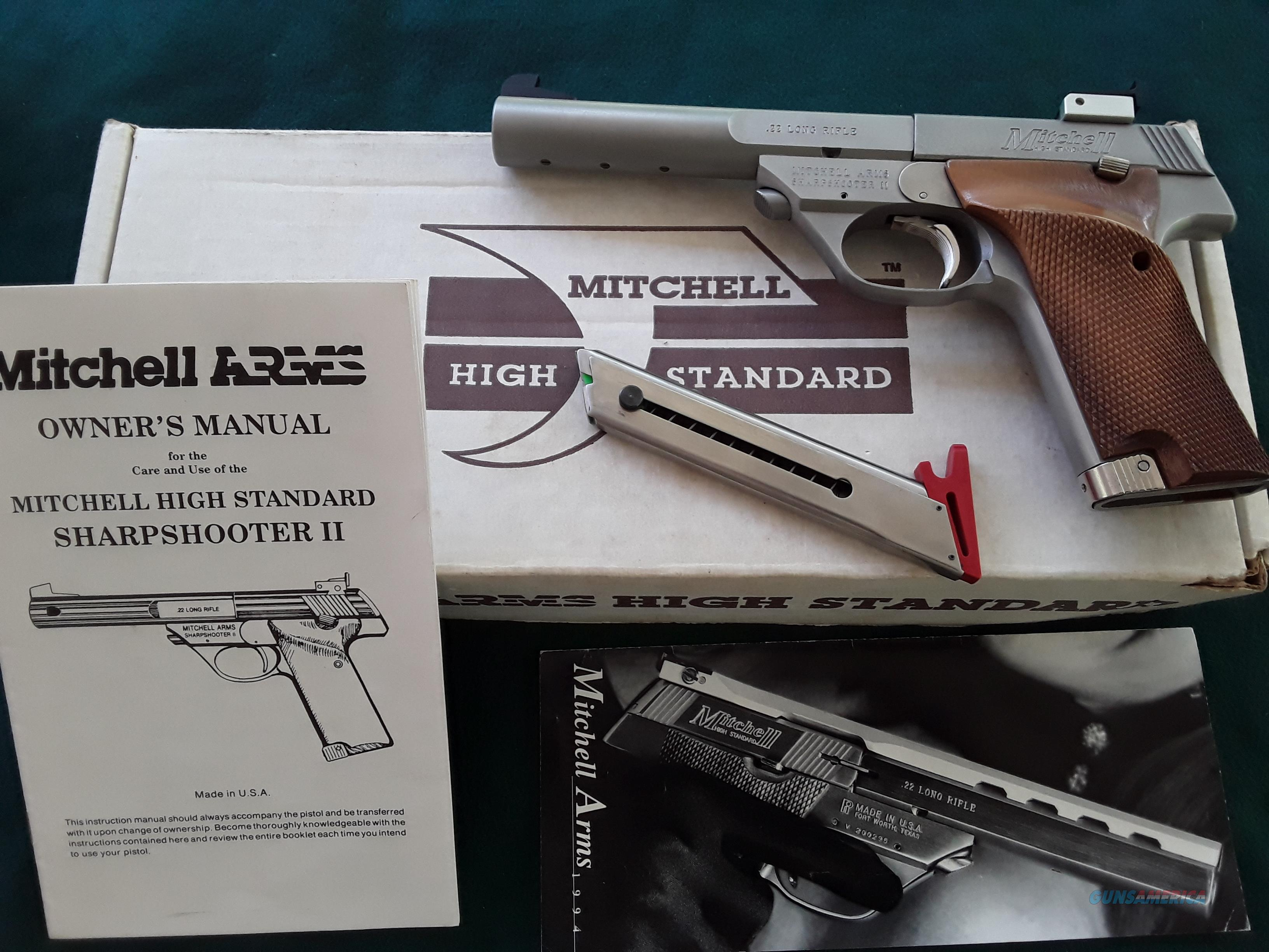 Mitchell High Standard Sharpshooter II  with Box And Papers  Guns > Pistols > Mitchell Arms Pistols