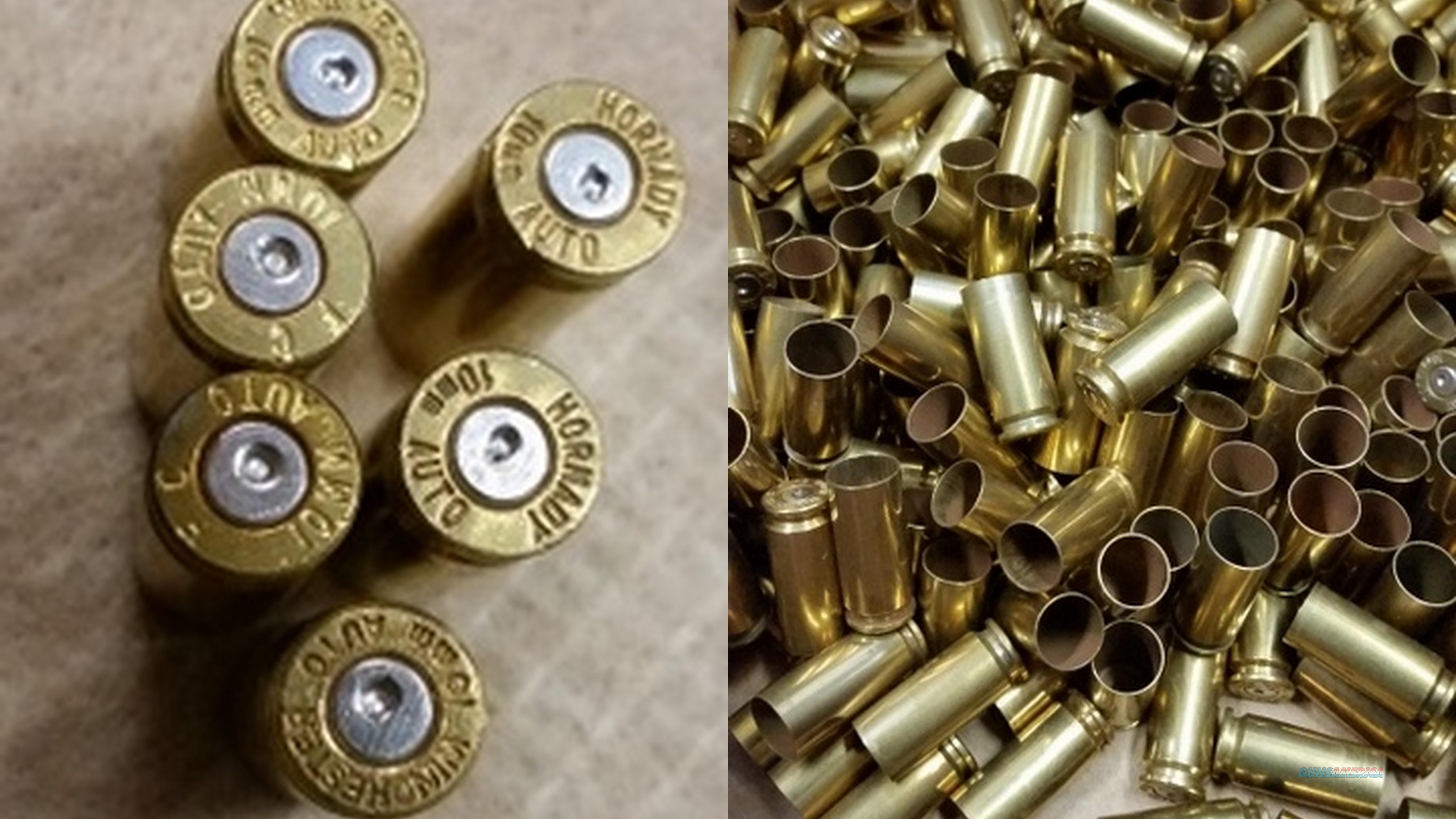 200 Rounds 10MM Auto Brass  Non-Guns > Reloading > Components > Brass