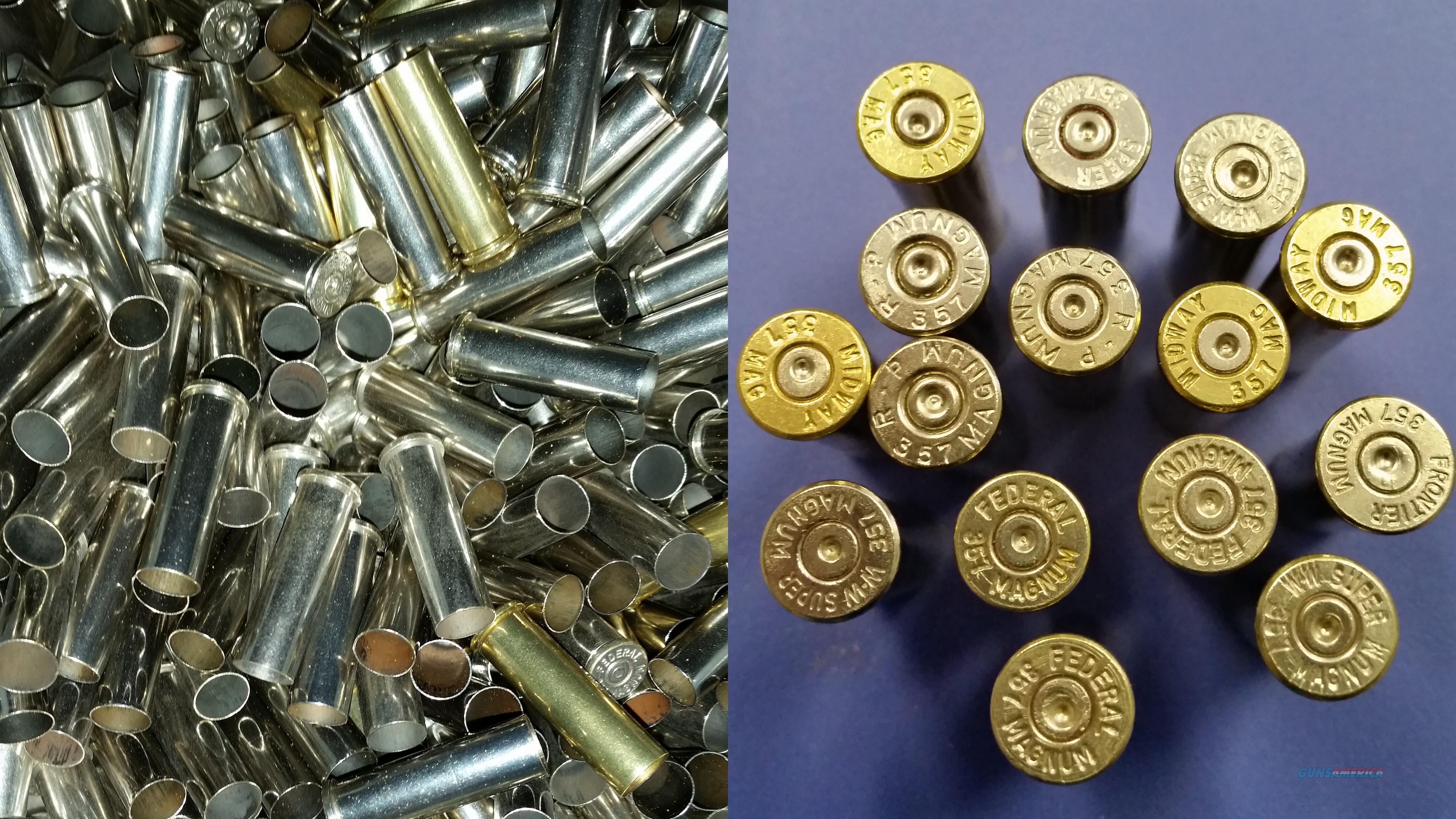 200 rounds of .357 Mag Brass  Non-Guns > Reloading > Components > Brass