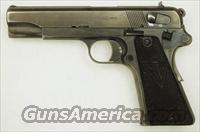 Early German Radom 9mm Pistol, slotted for stock  Guns > Pistols > Military Misc. Pistols Non-US